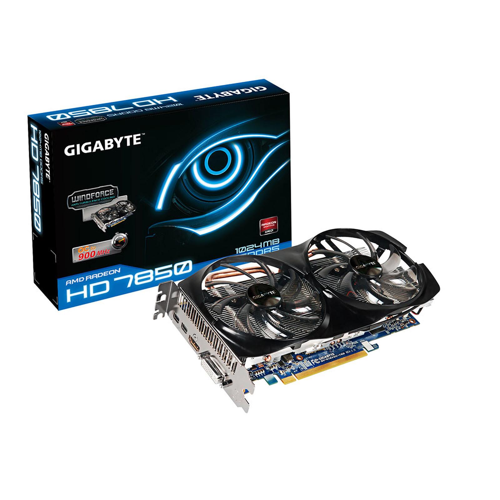 Gigabyte GV-R785OC-1GD 1 GB