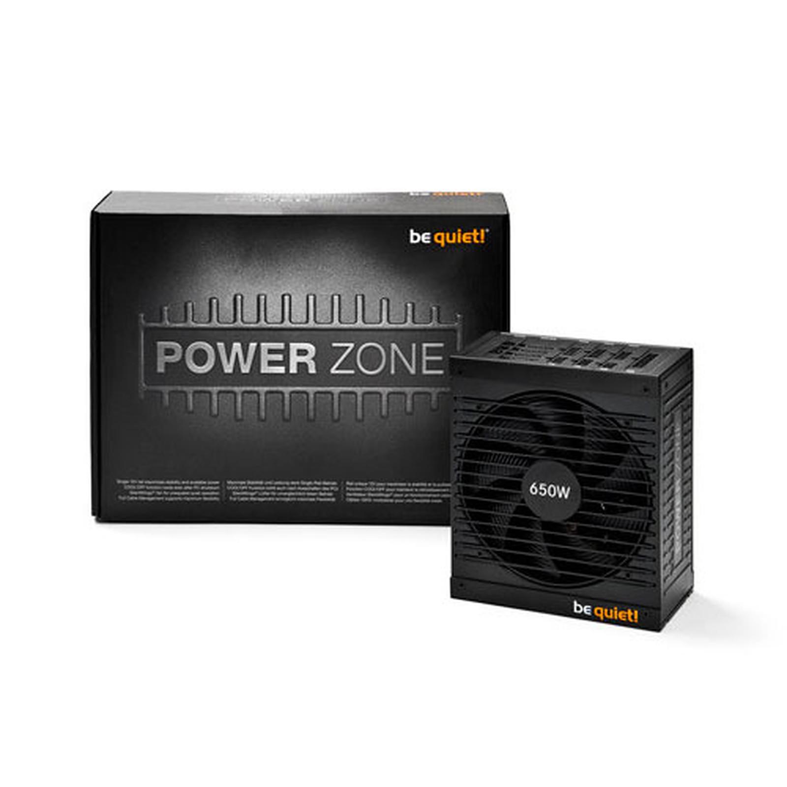be quiet! Power Zone 650W 80PLUS Bronze