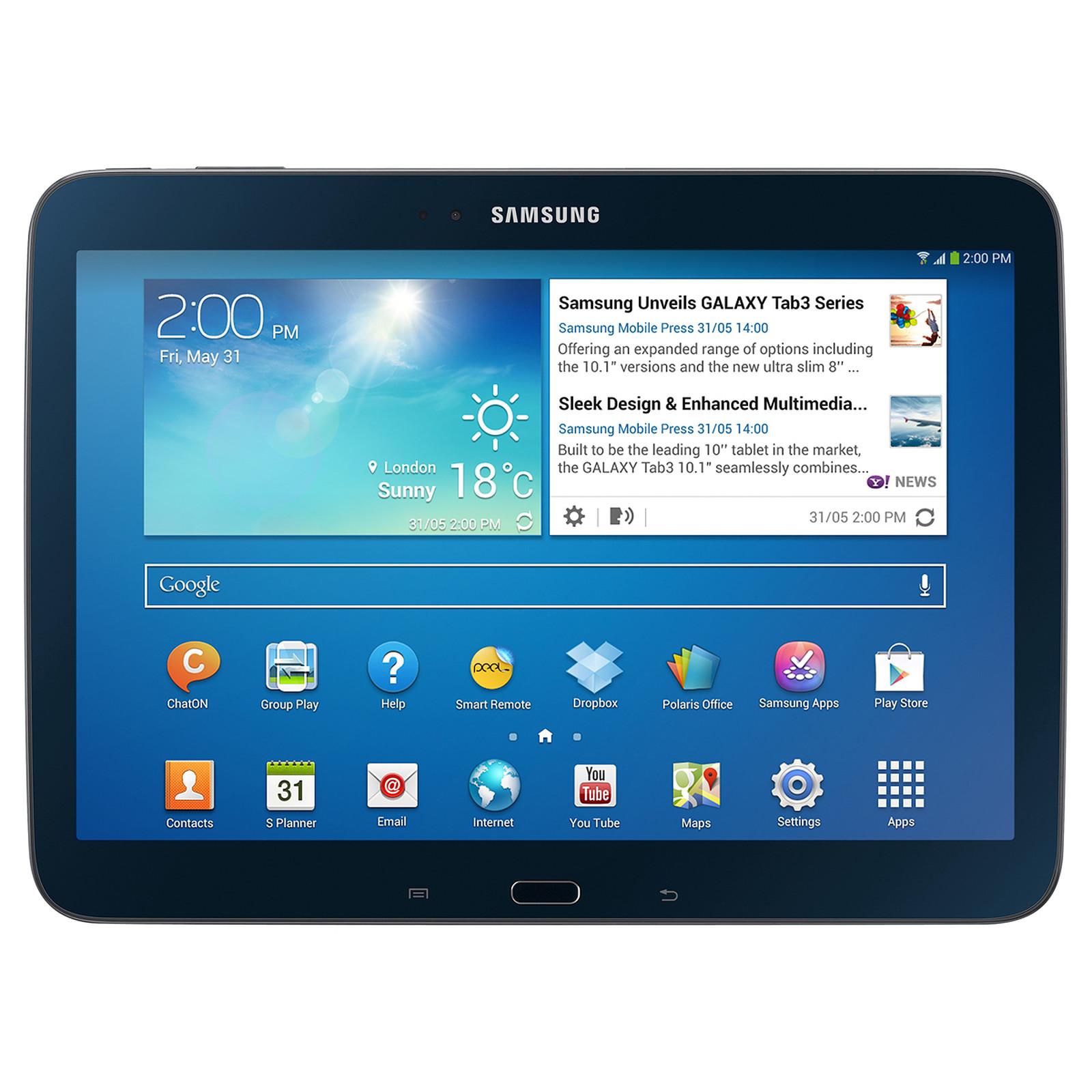 """Samsung Galaxy Tab 3 10.1"""" GT-P5210 16 Go Noir"""