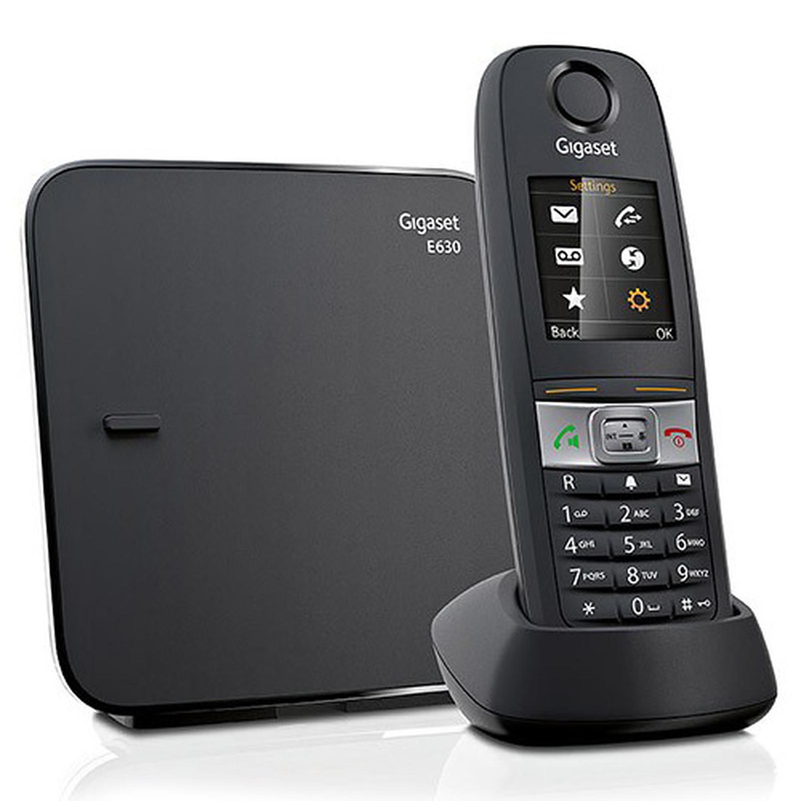 Gigaset E630 Téléphone Sans Fil Gigaset Sur Ldlccom
