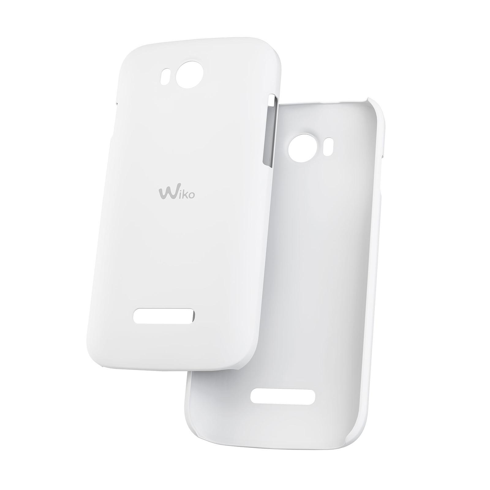 Wiko Coque Ultra Slim Blanc Wiko Iggy