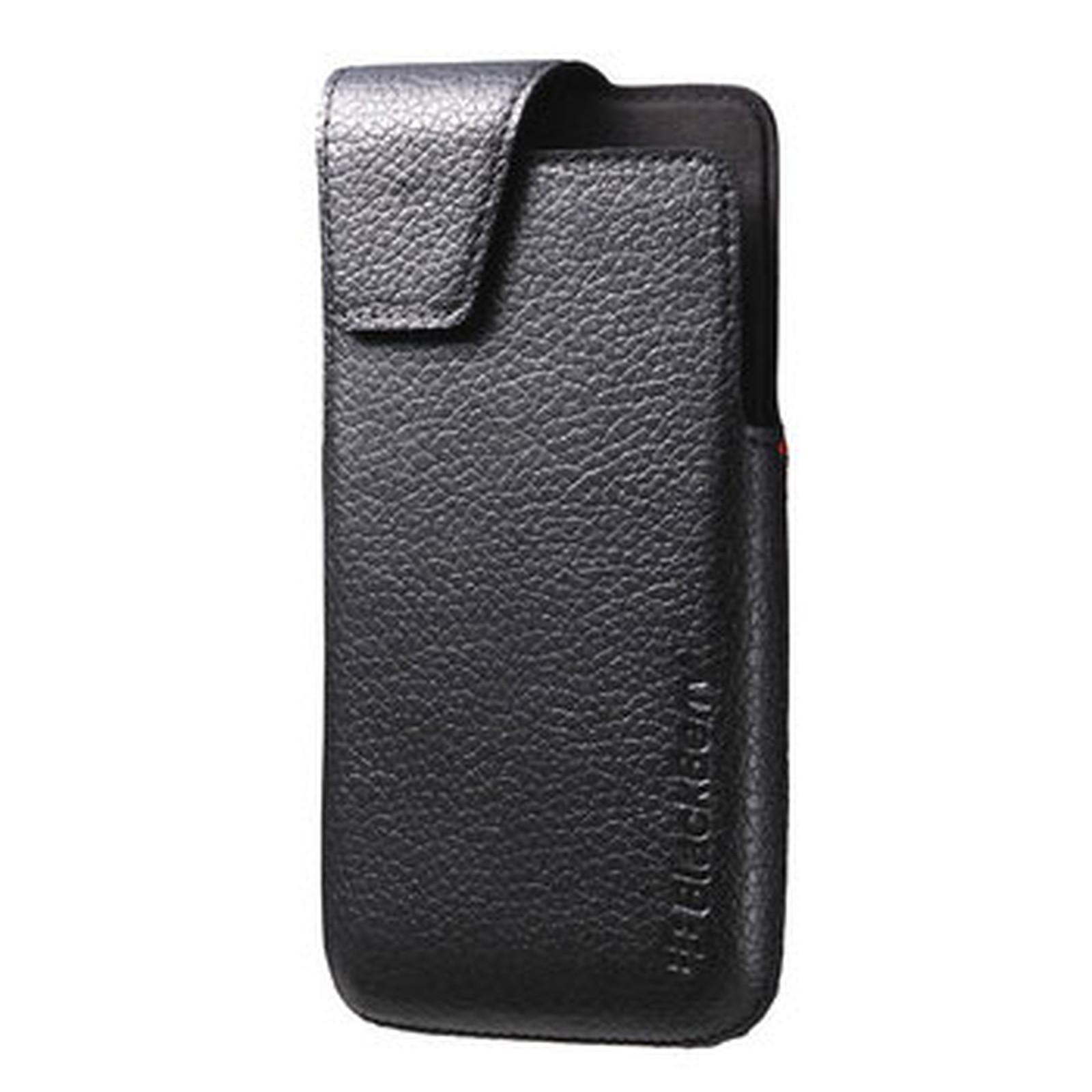 BlackBerry Leather Swivel Holster Noir pour BlackBerry Z30