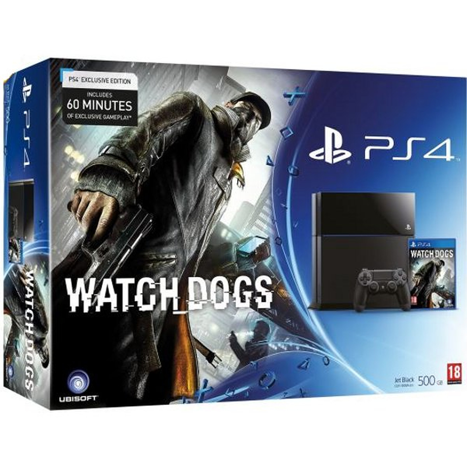 Sony PlayStation 4 + Watch_Dogs