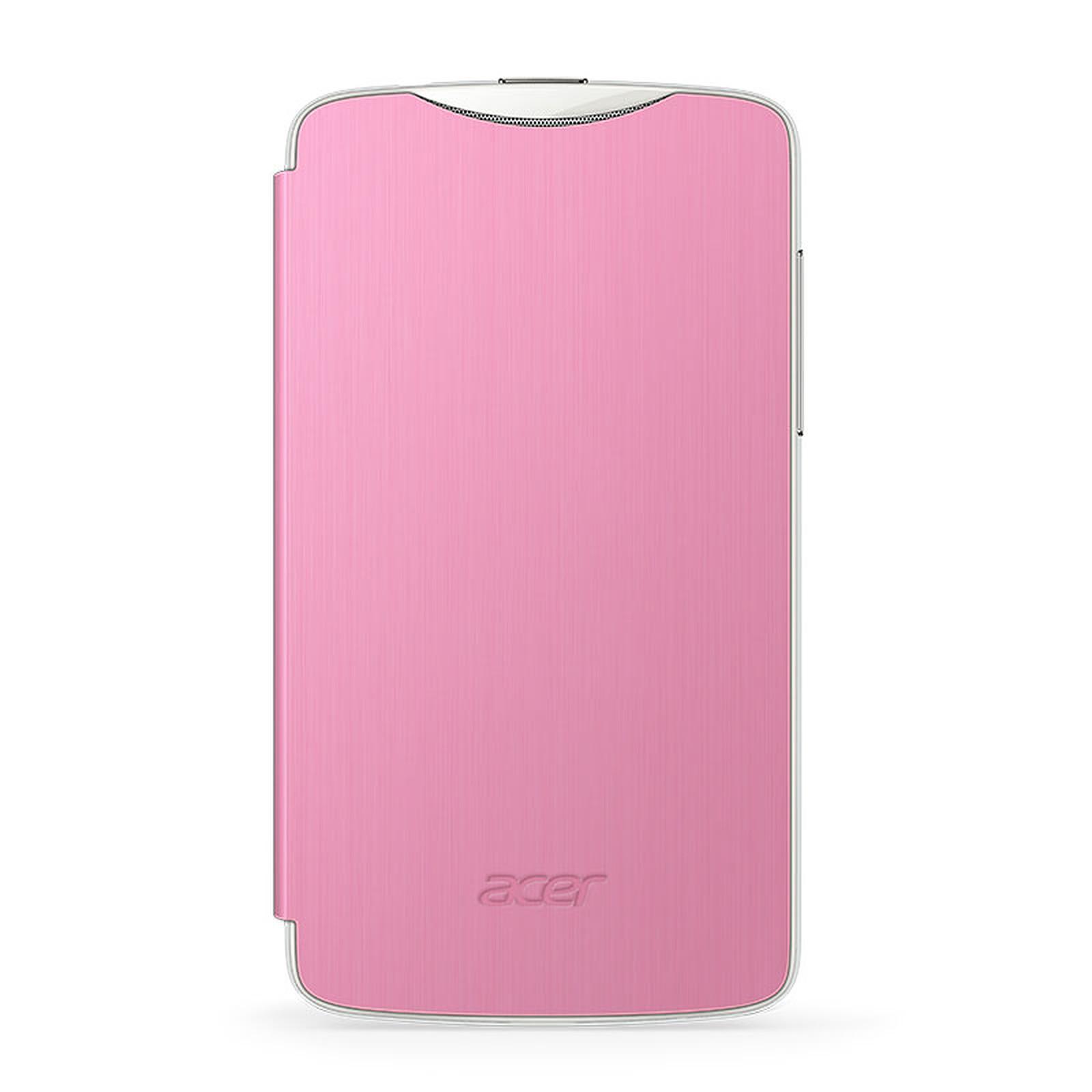 Acer Flip Case Rose pour Liquid Z3 Duo