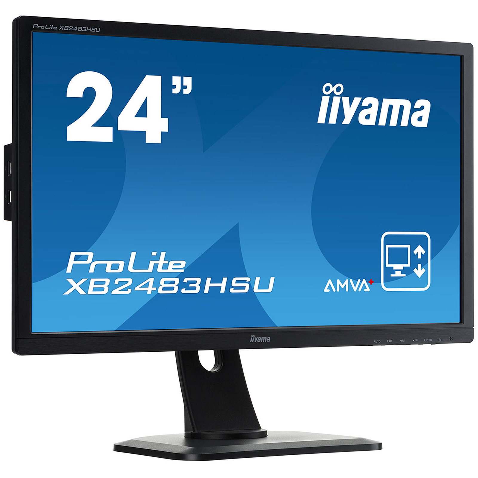 "iiyama 24"" LED ProLite XB2483HSU-B1"