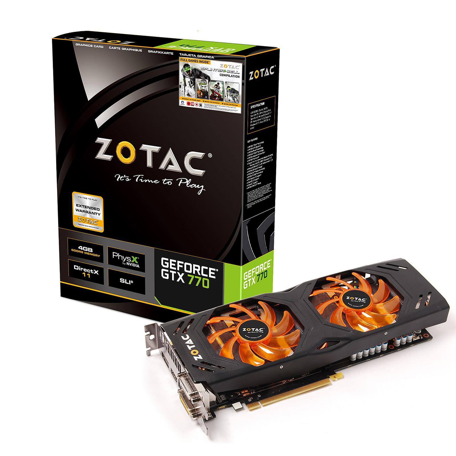 Zotac GeForce GTX 770 4 GB OC Dual-Silencer