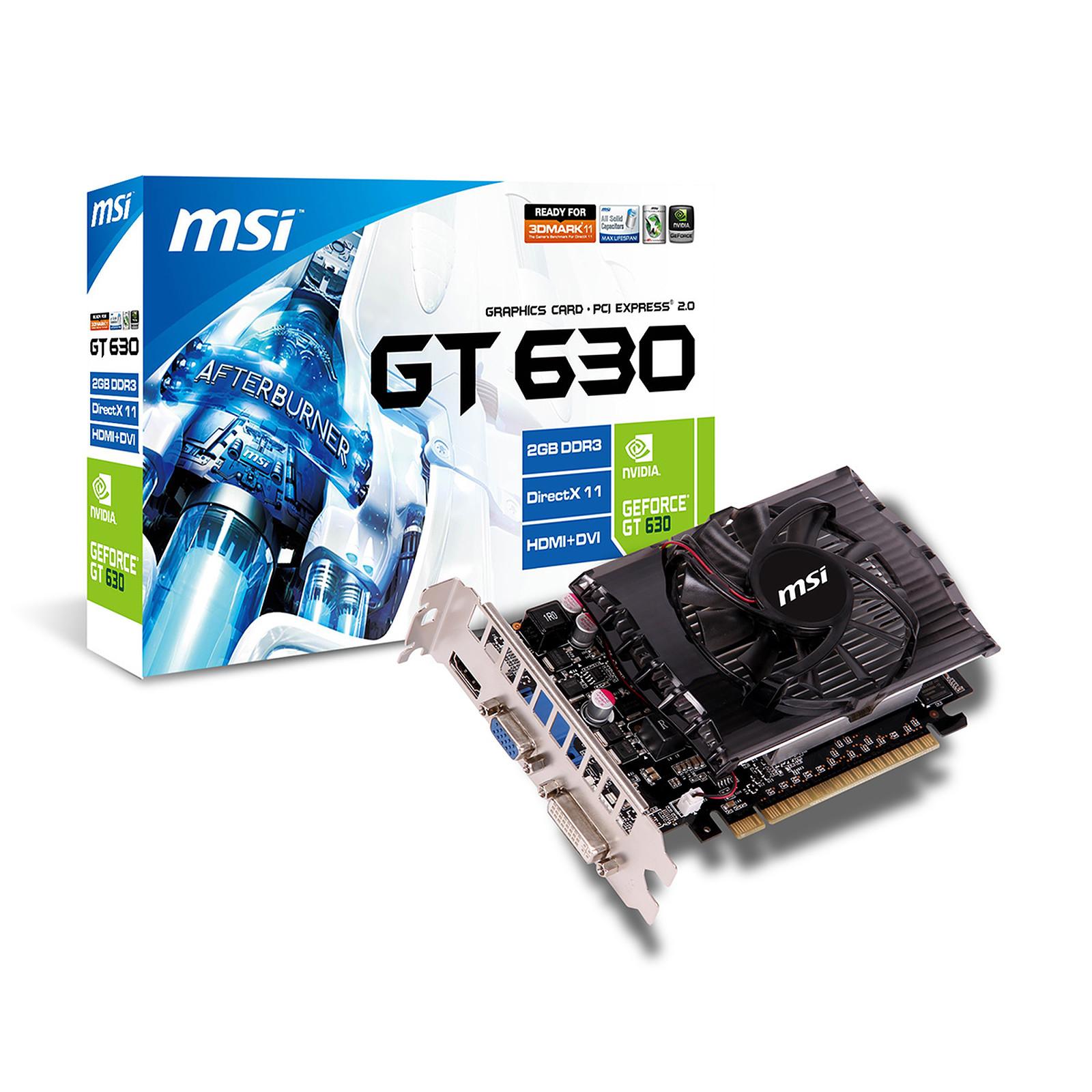 MSI GeForce GT 630 N630GT-MD2GD3V1 2 GB