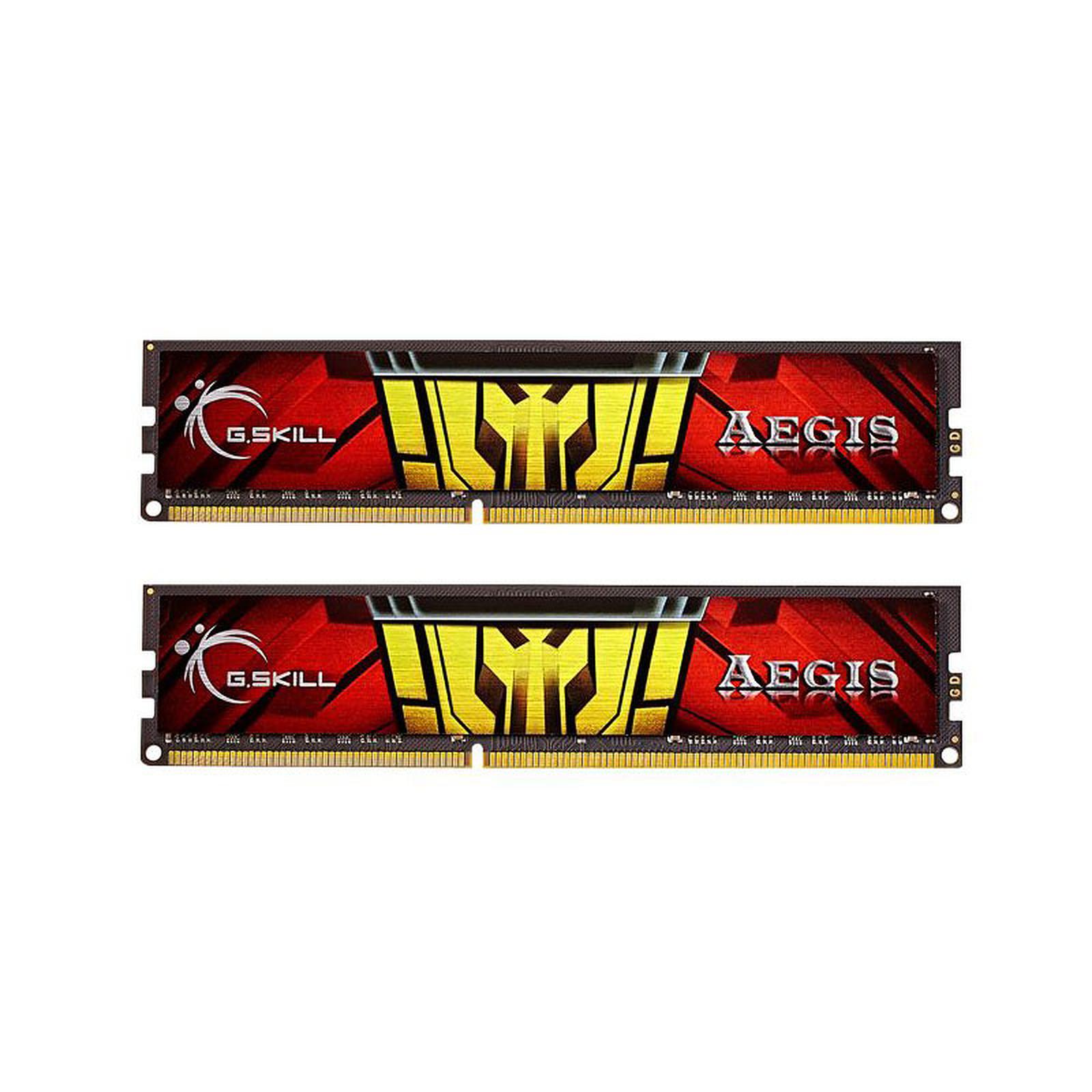G.Skill Aegis Series 16 Go (2 x 8 Go) DDR3L 1333 MHz CL9