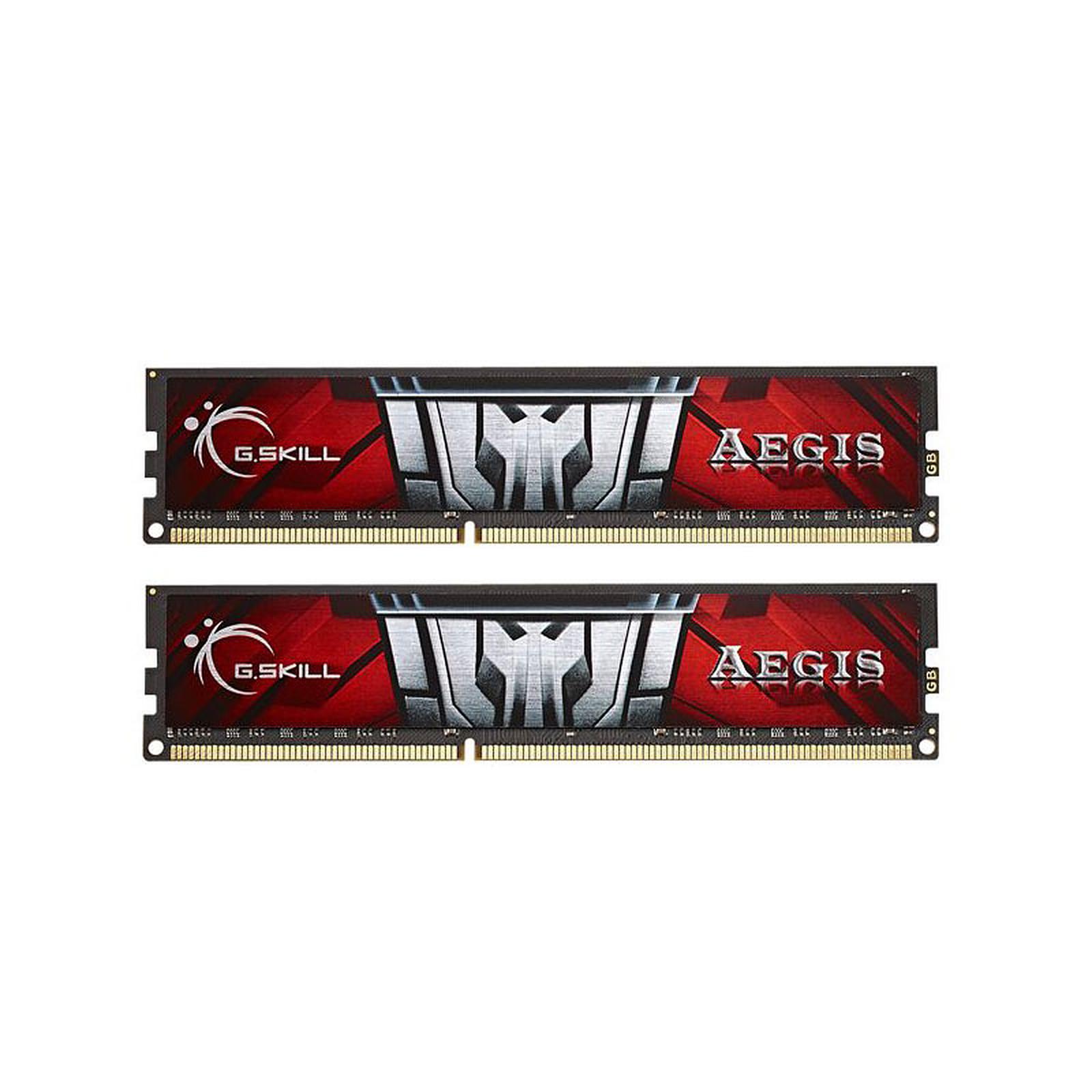 G.Skill Aegis Series 8 Go (2 x 4 Go) DDR3 1600 MHz CL11