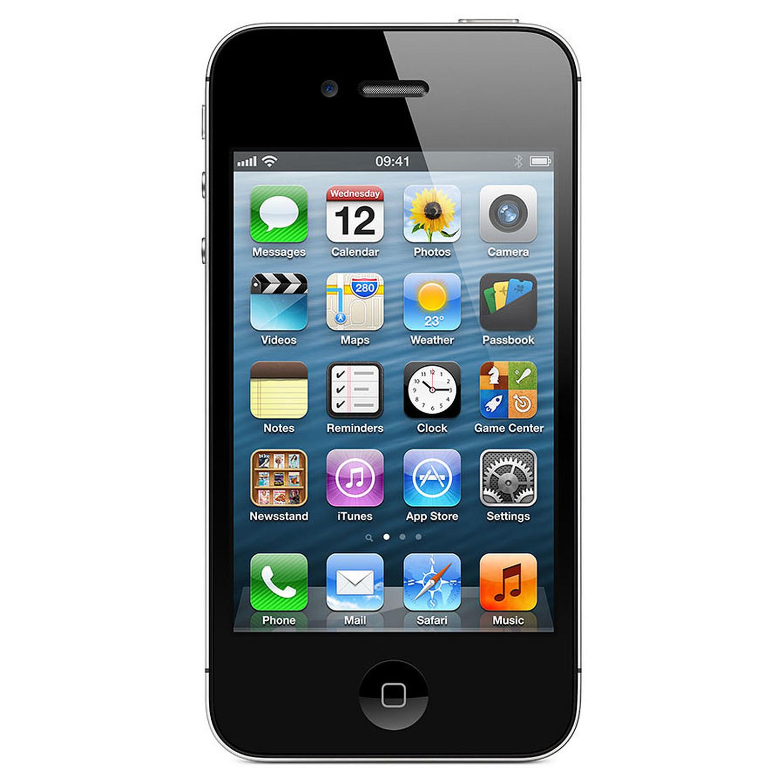 apple iphone 4s 8 go noir mobile smartphone apple sur. Black Bedroom Furniture Sets. Home Design Ideas