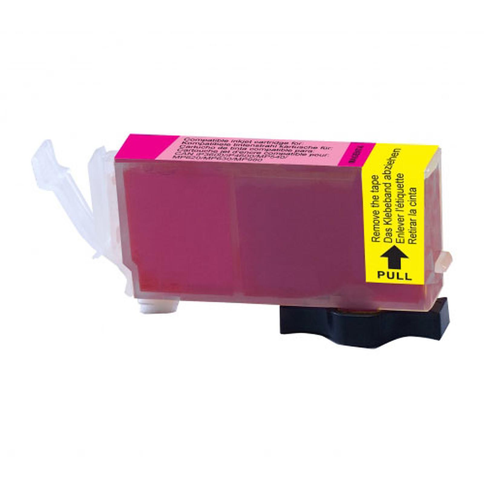 Cartouche compatible CLI-521M (Magenta)