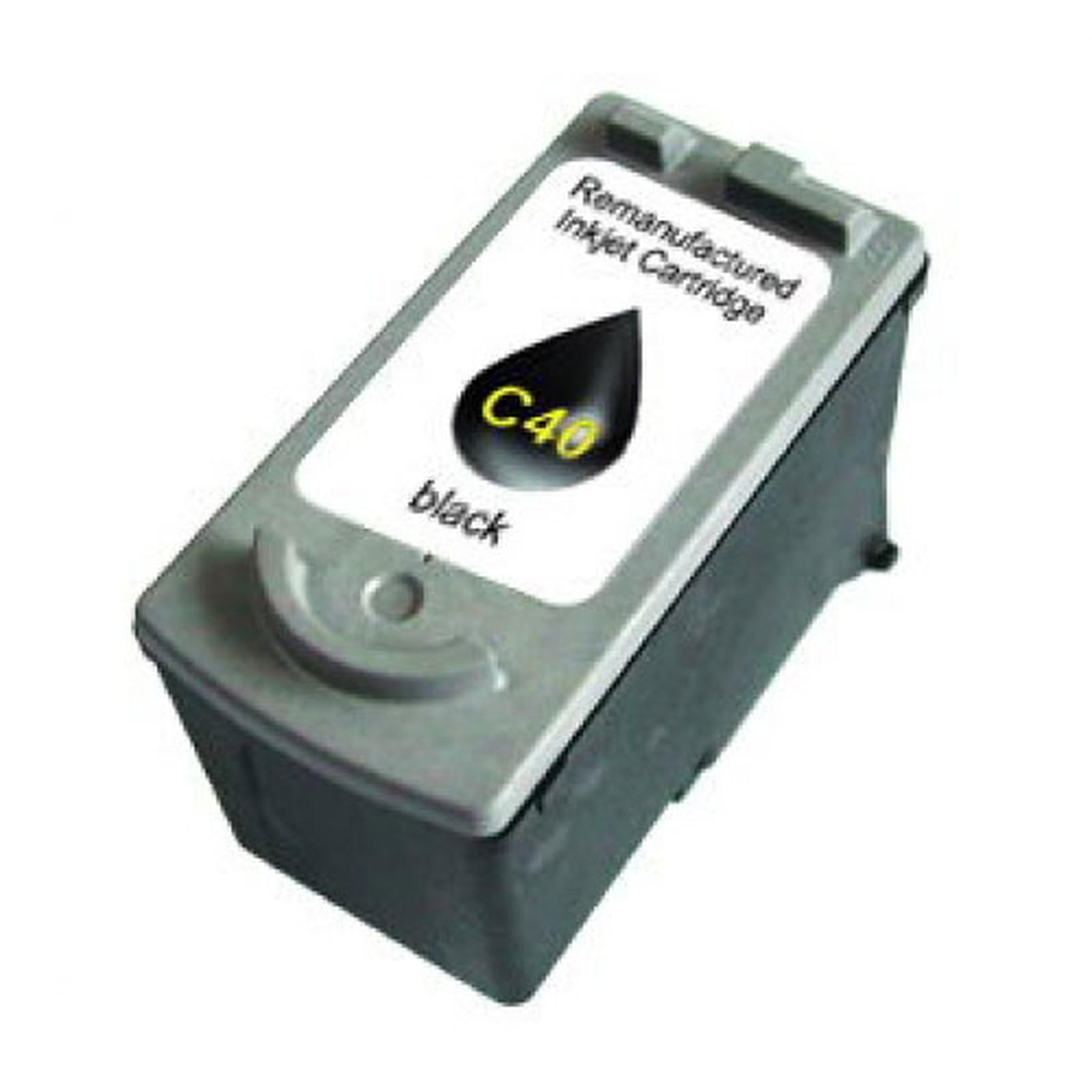 Cartouche haute capacité compatible PG-40 (Noir)