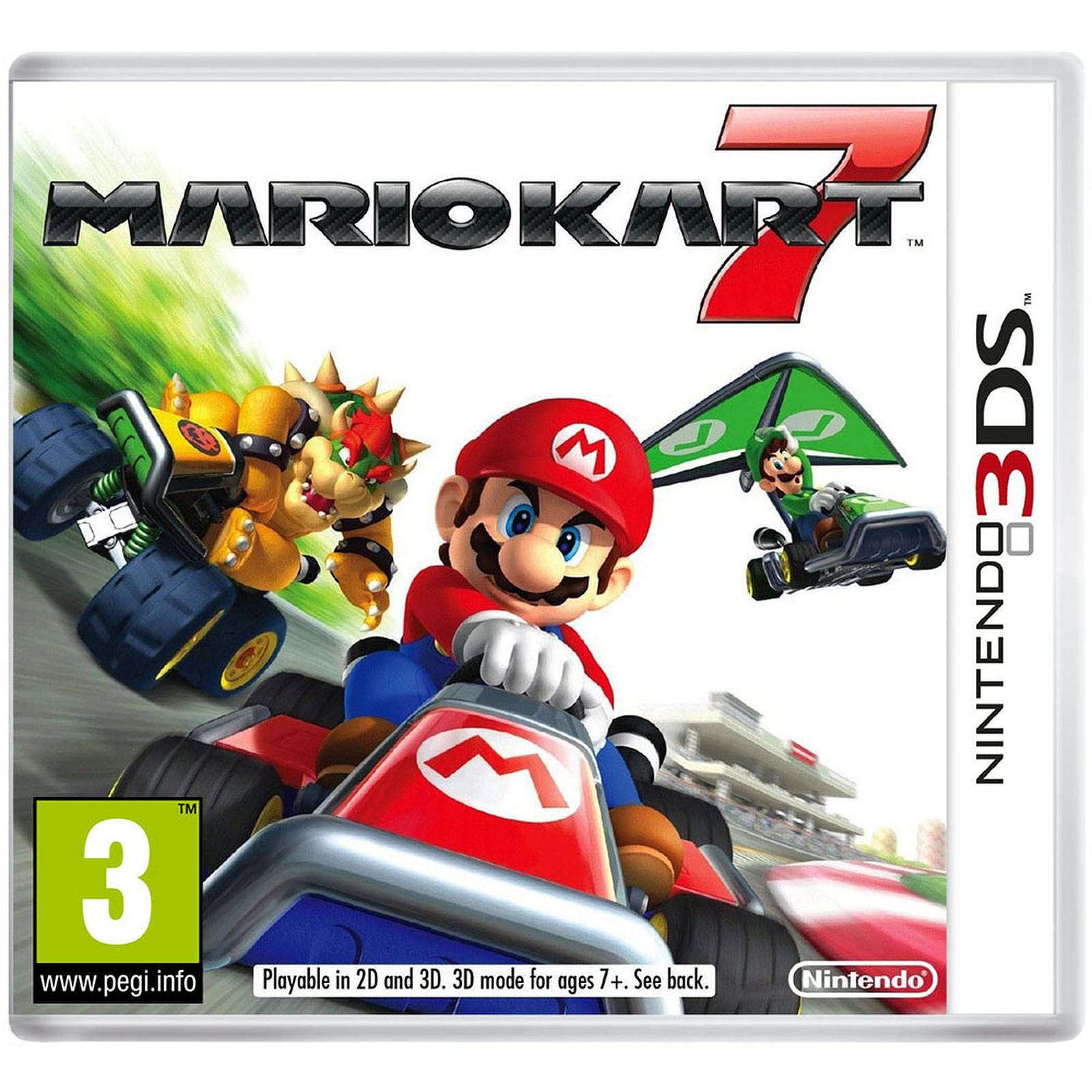 Mario Kart 7 Nintendo 3ds 2ds Juegos Nintendo 3ds Nintendo En
