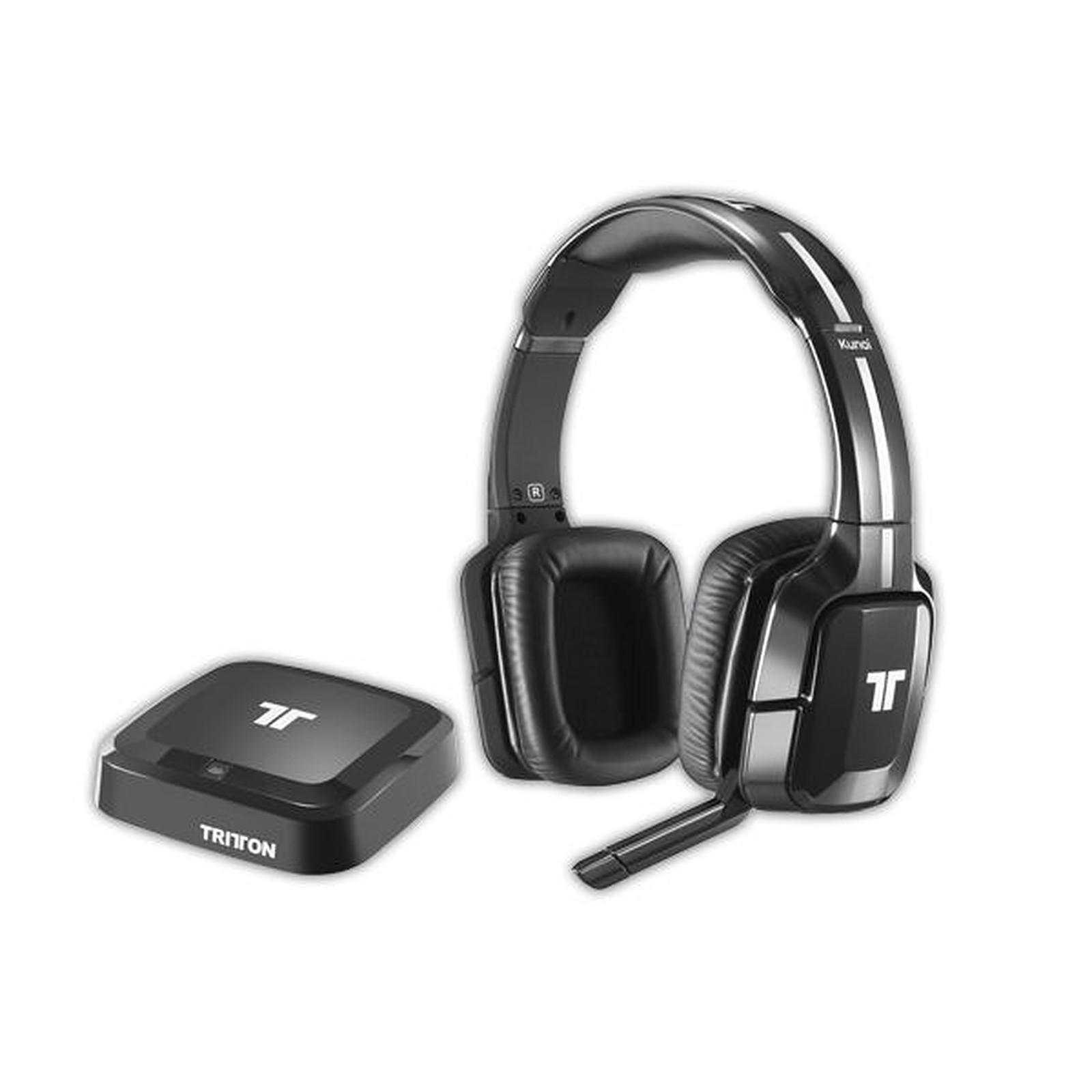 casque audio ps3 sans fil tritton