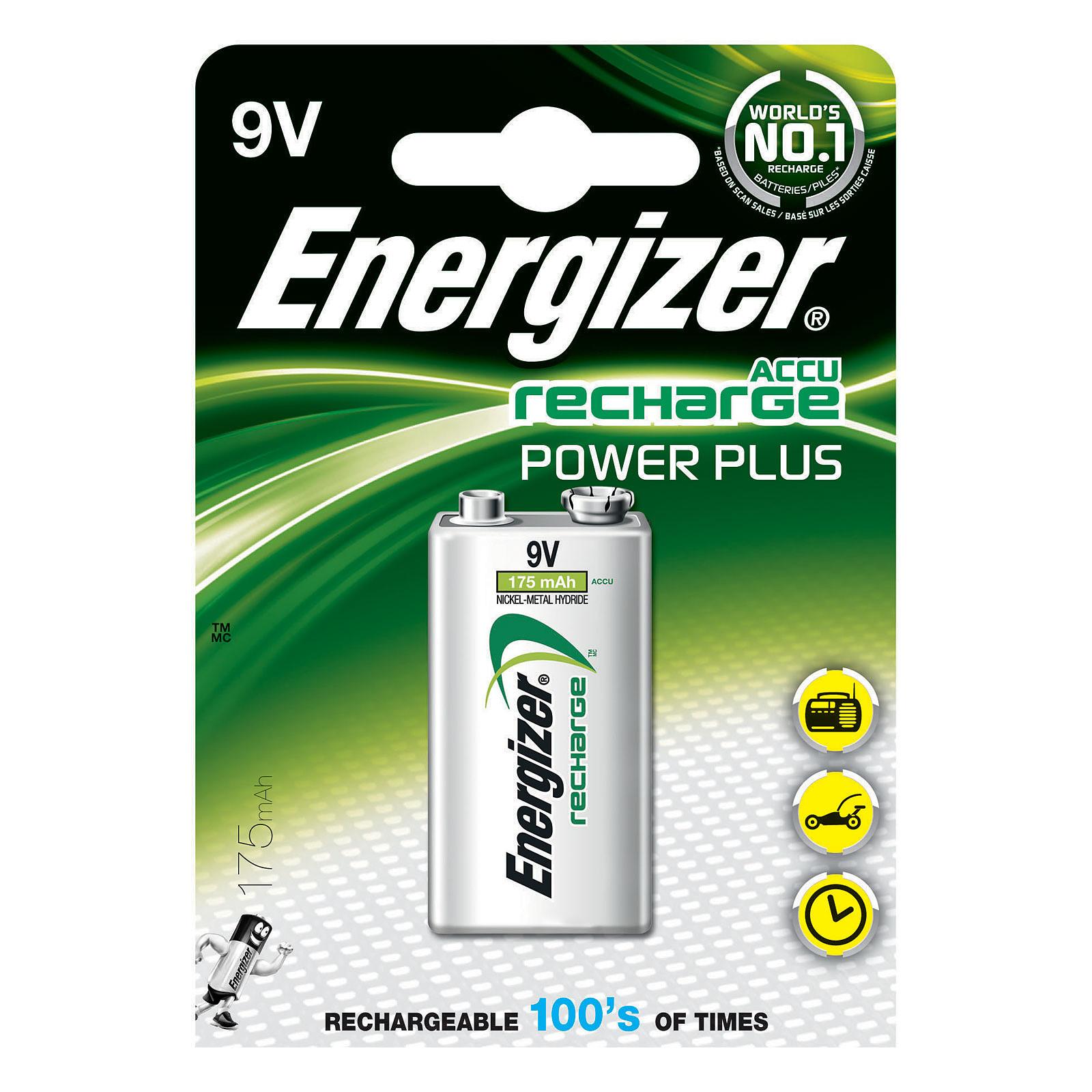 9v Recharge 175 Plus Energizer Mahà L'unité Accu Power SMjUzVpGLq