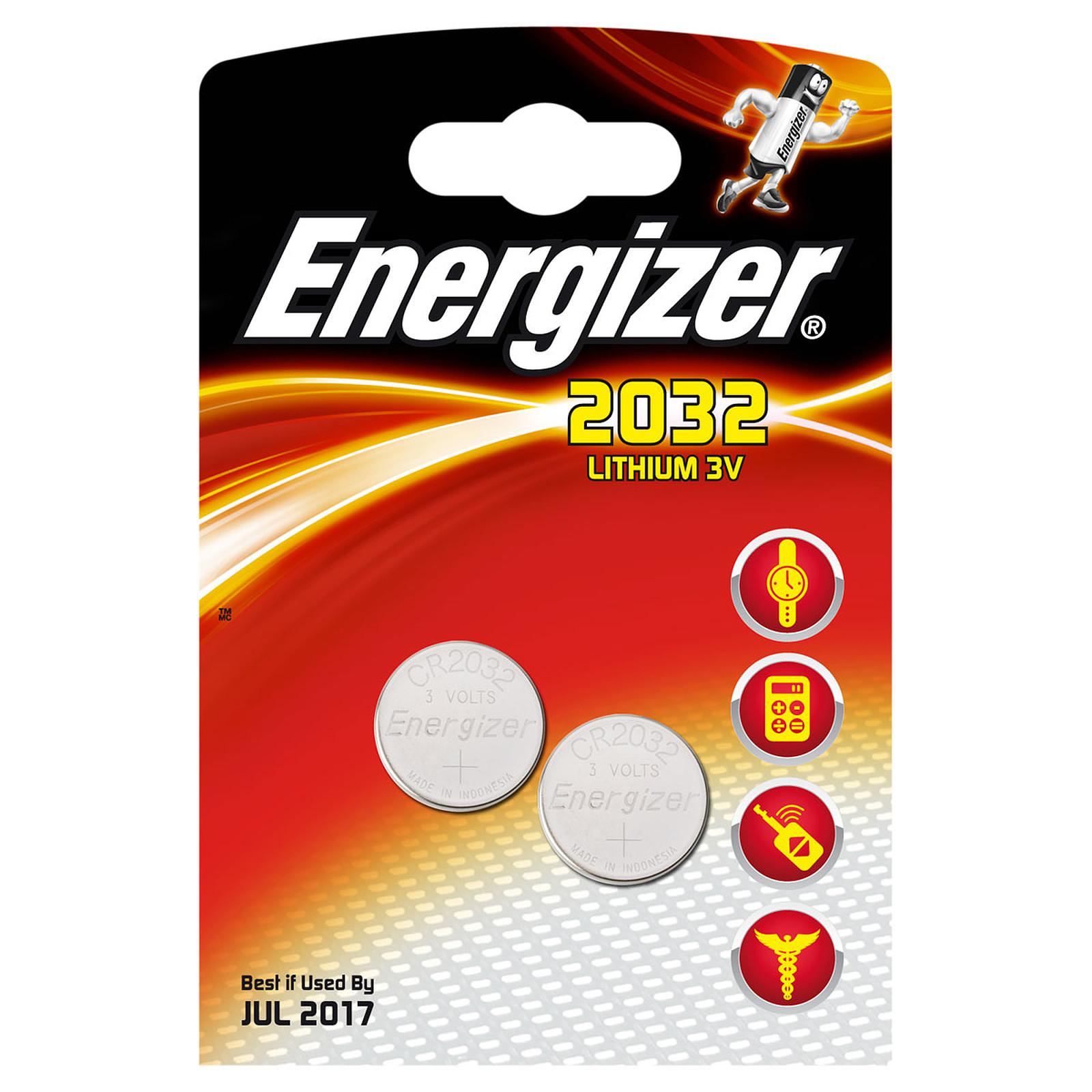 Energizer 2032 Lithium 3V (par 2)