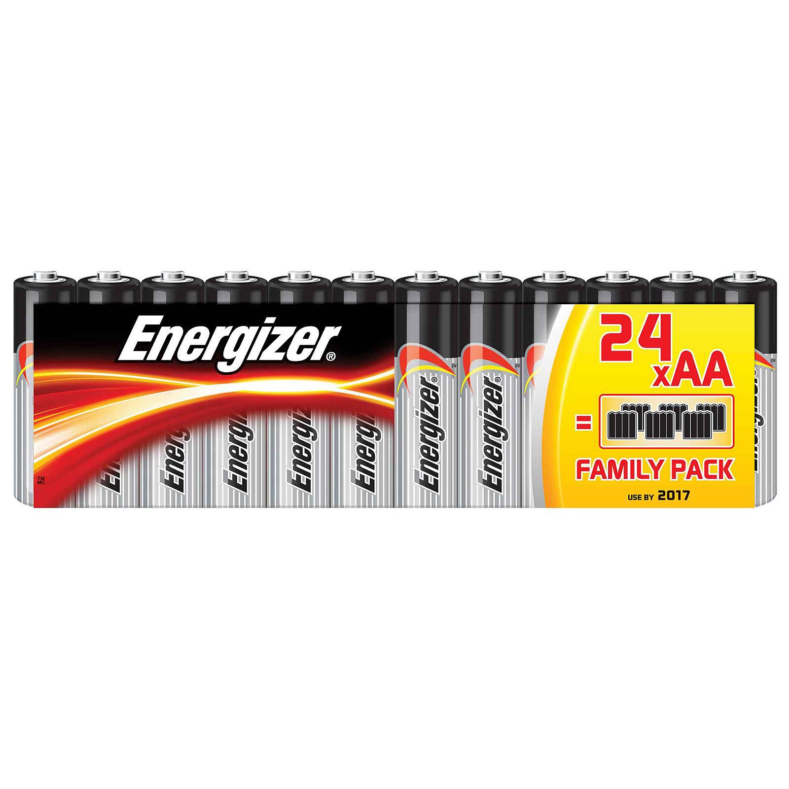 Energizer Classic Family Pack AA (par 24)