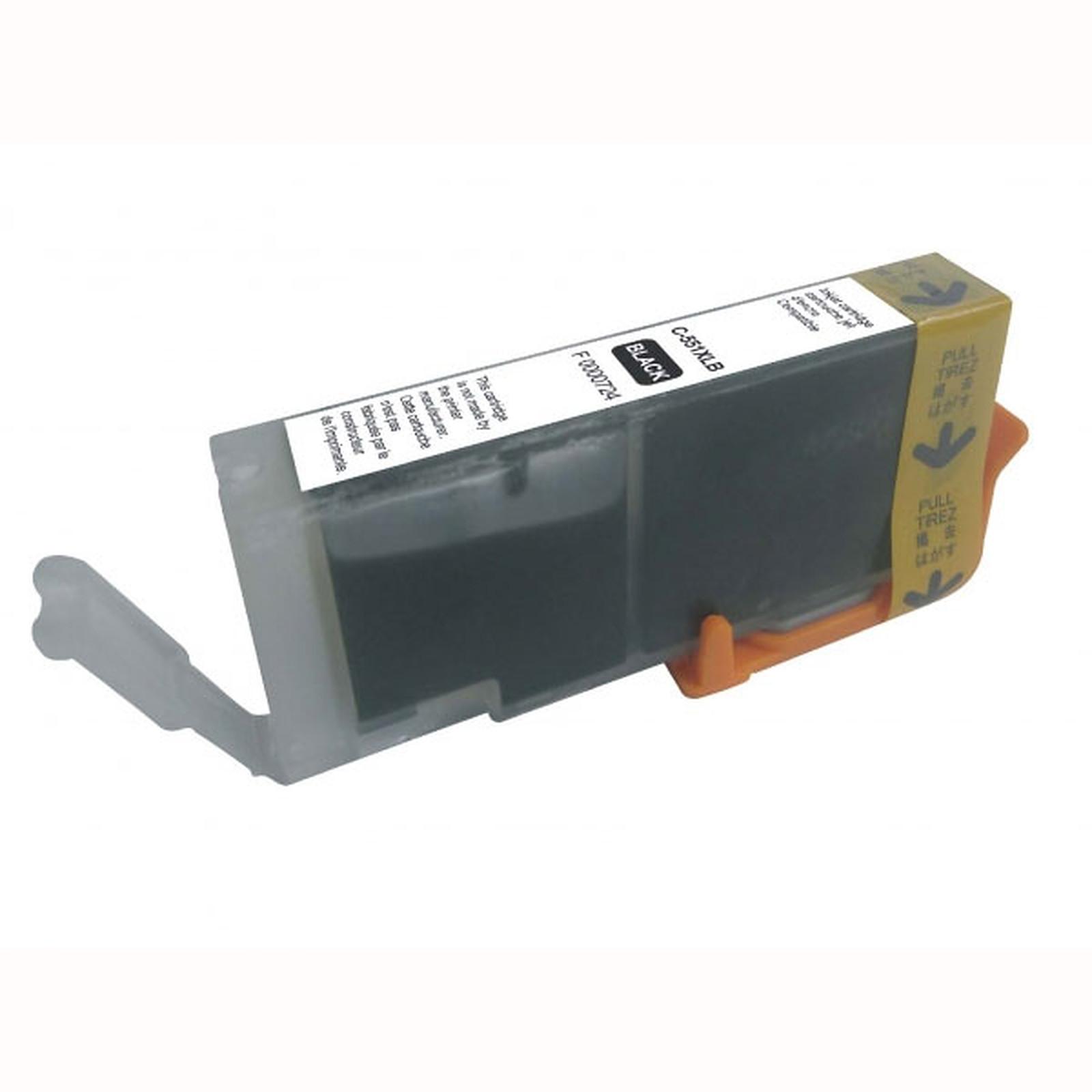 Cartouche compatible CLI-551BK XL (Noir)