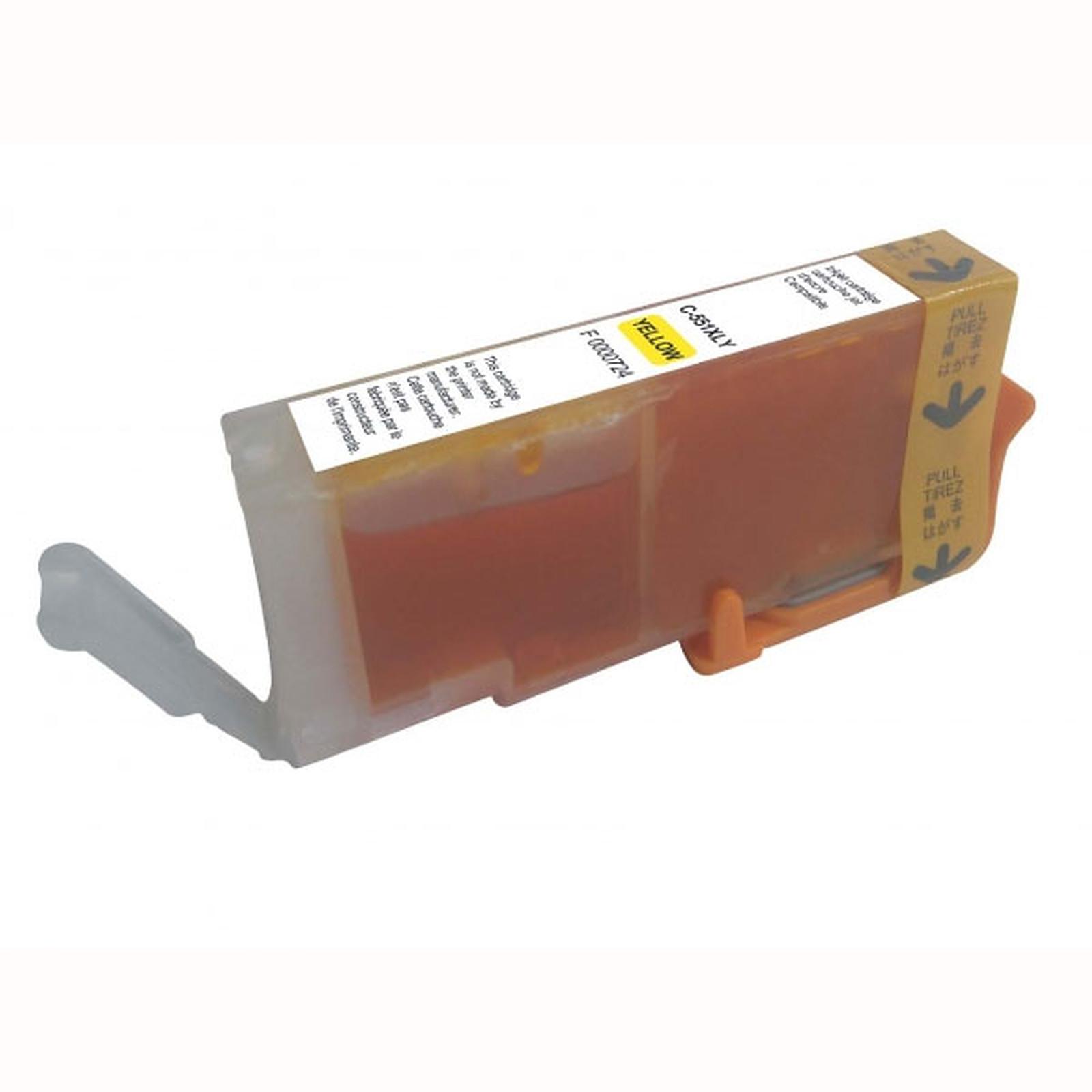 Cartucho compatible CLI-551Y XL (amarillo)
