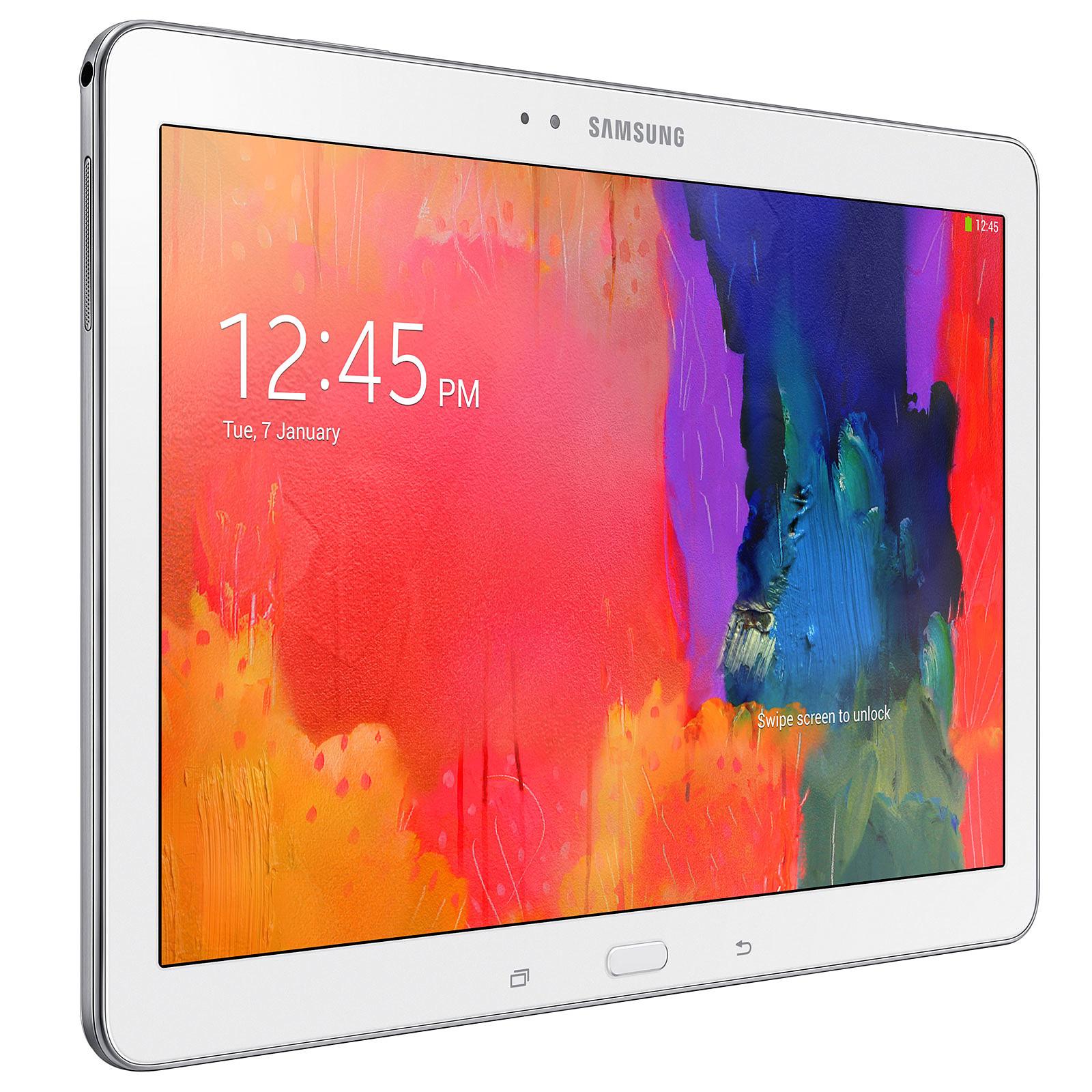 """Samsung Galaxy Tab Pro 10.1"""" SM-T520 16 Go Blanc"""