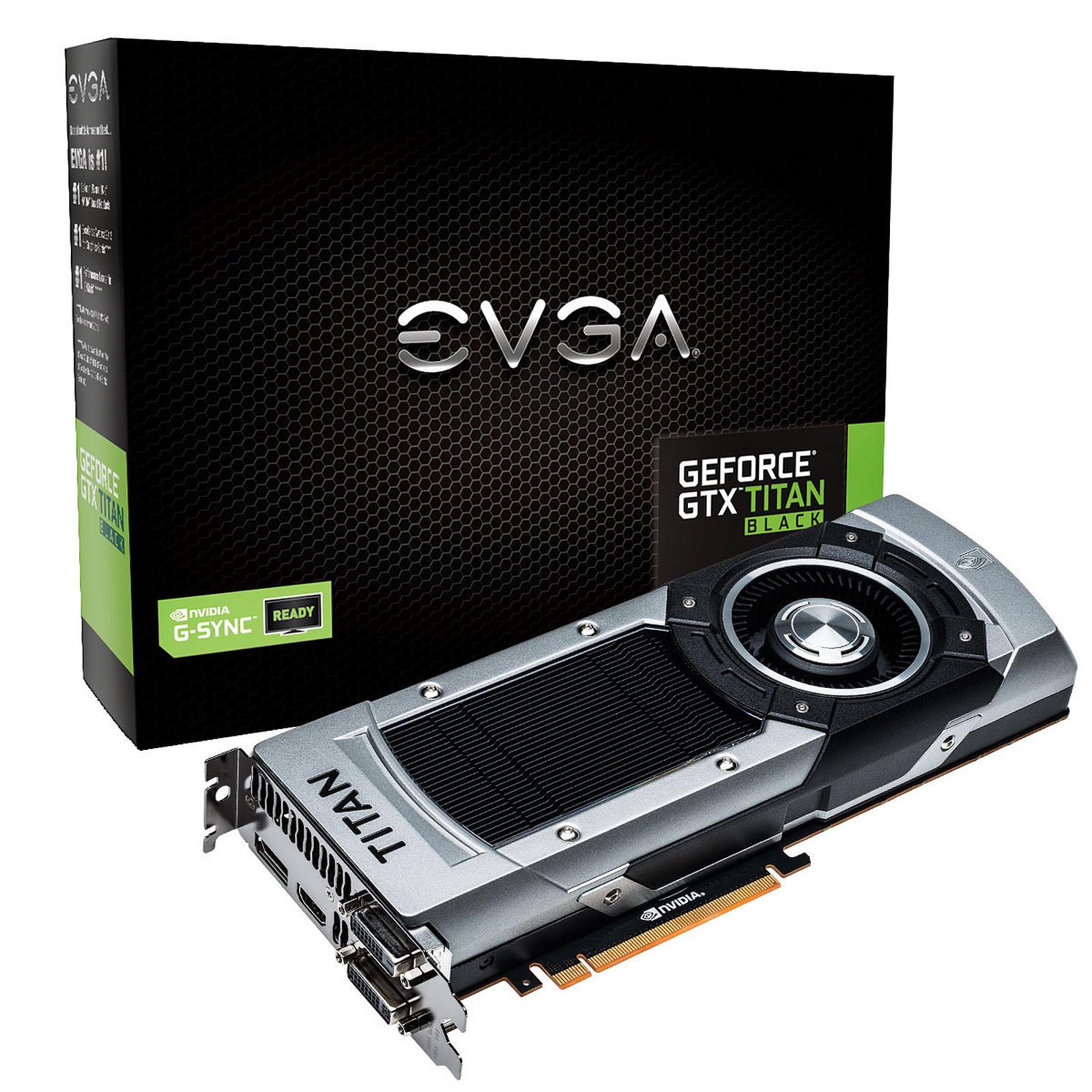 EVGA GeForce GTX TITAN Black 6 Go