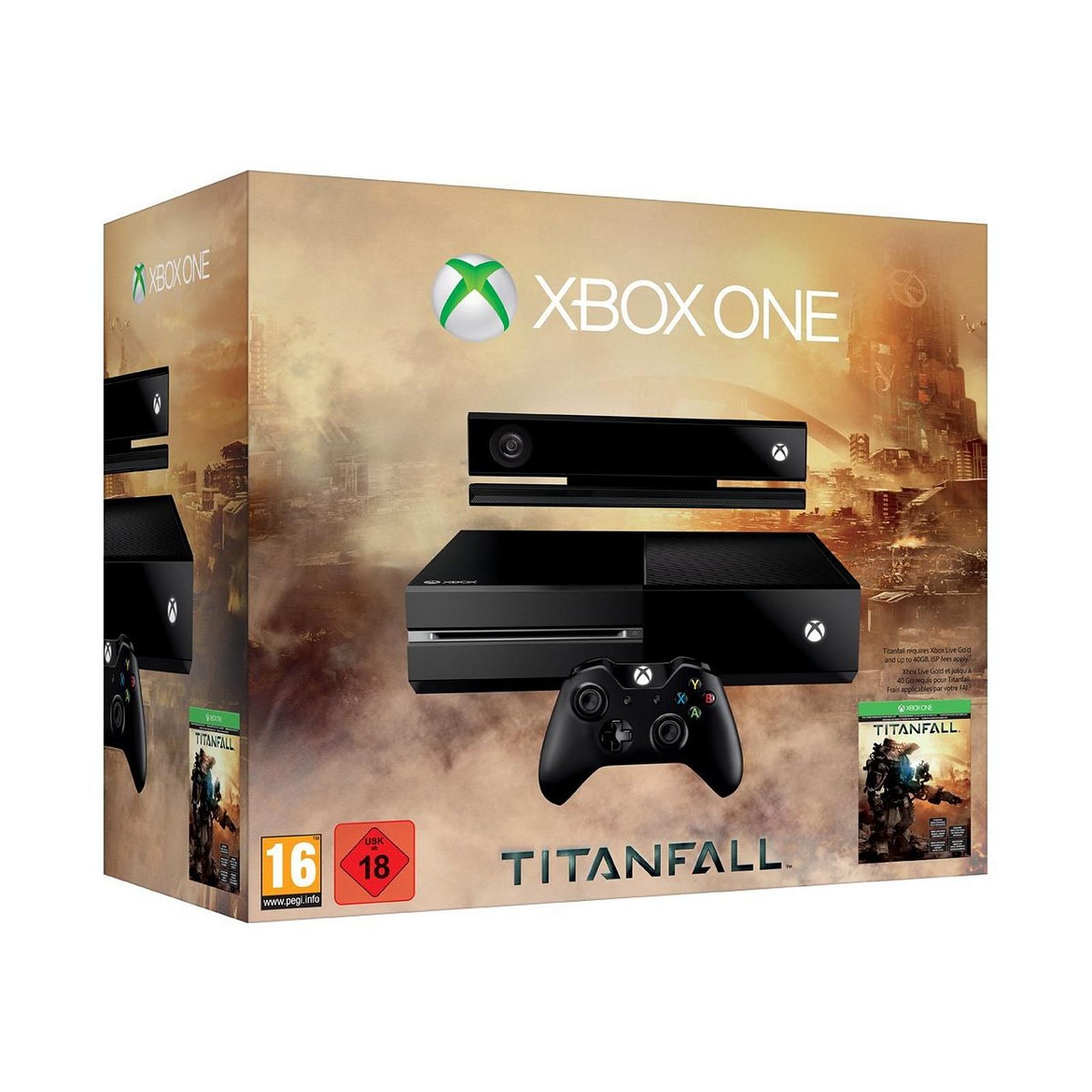 Microsoft Xbox One + Kinect + Titanfall