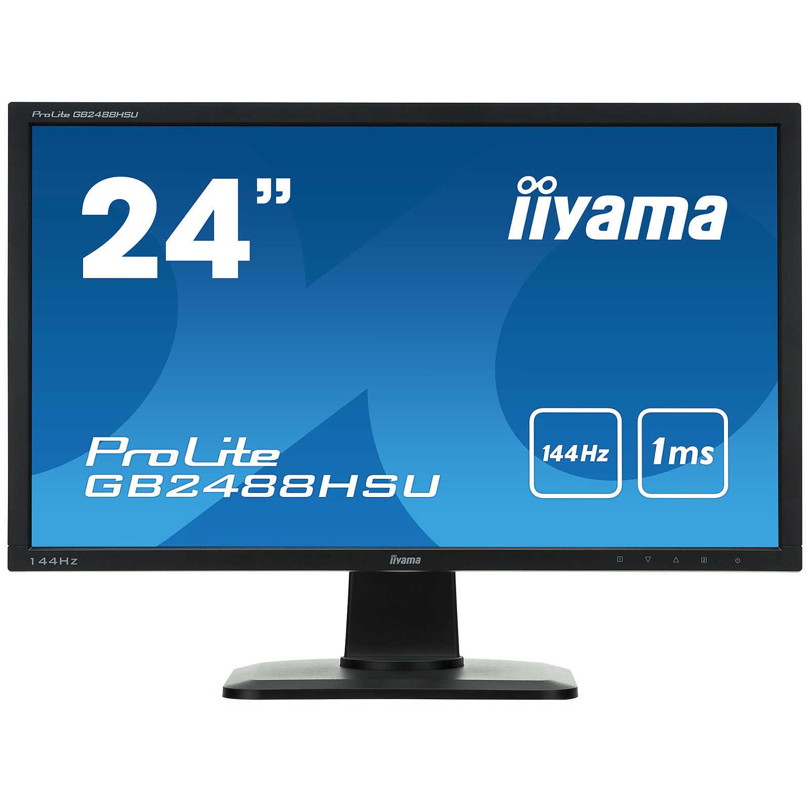 "iiyama 24"" LED - ProLite GB2488HSU-B1"