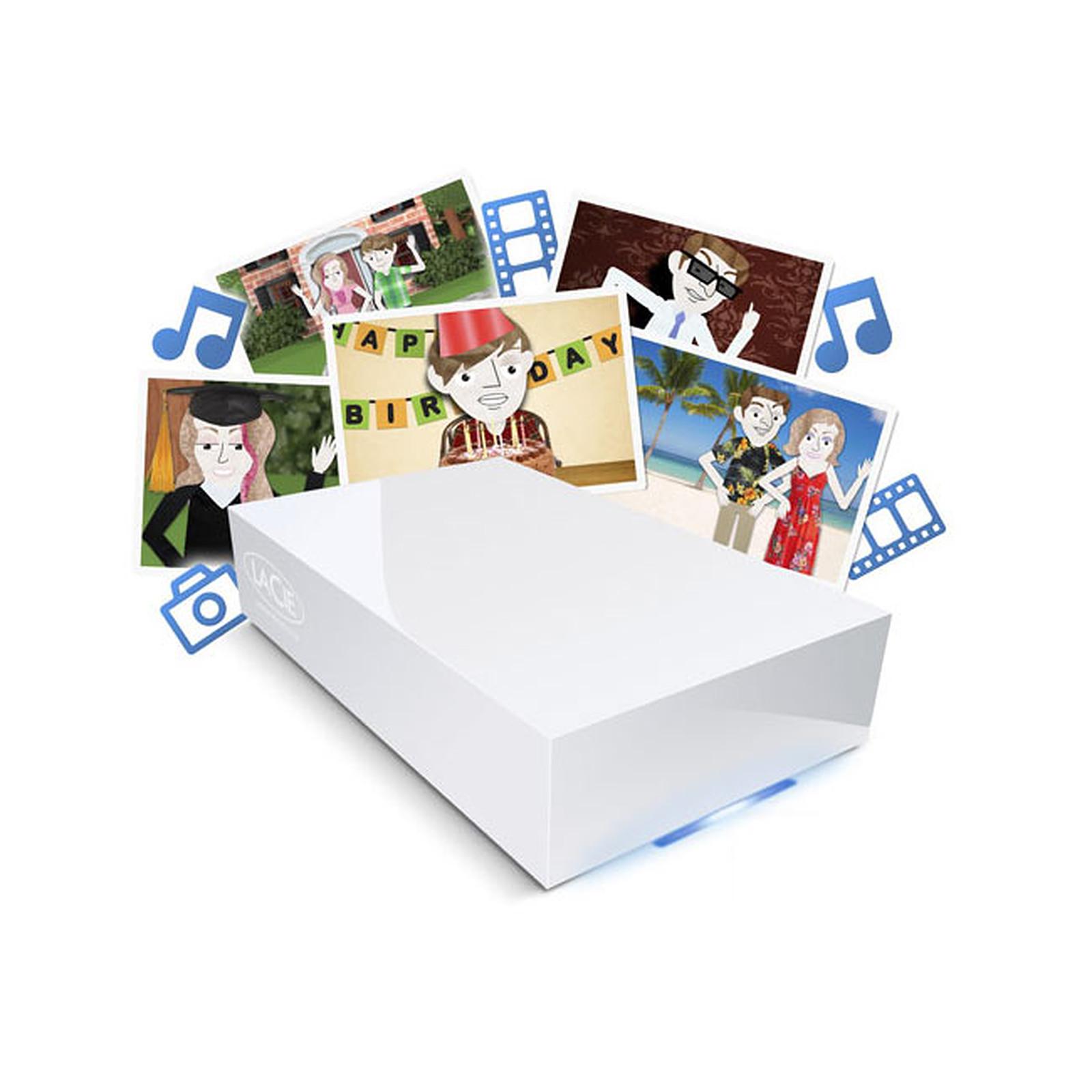 LaCie CloudBox 3 To