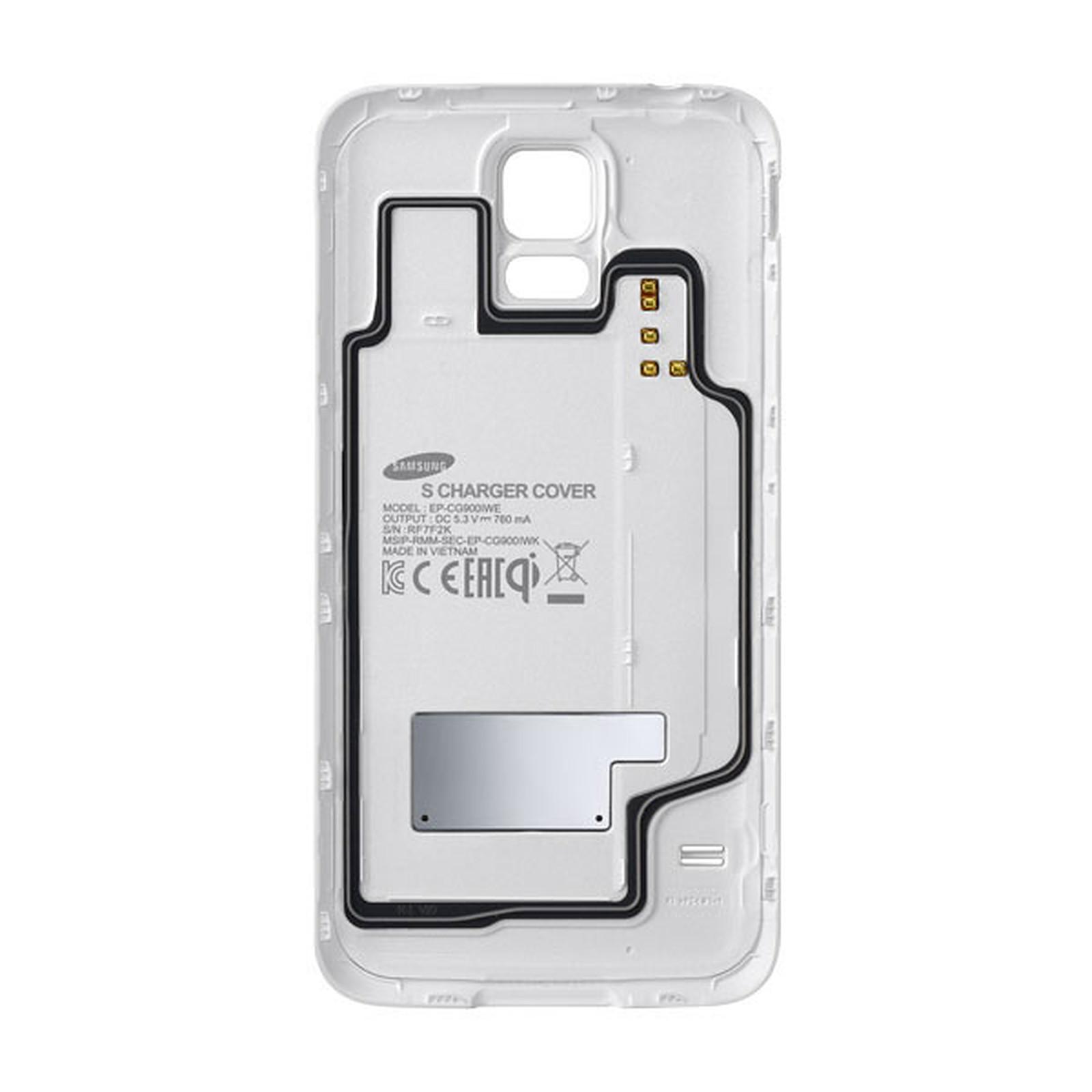 Samsung Coque de chargement à induction EP-CG900I Blanc