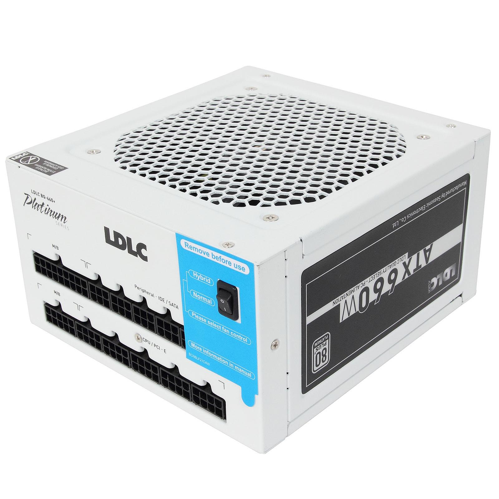LDLC BQ-660+ Quality Select 80PLUS Platinum (Garantie 5 ans)