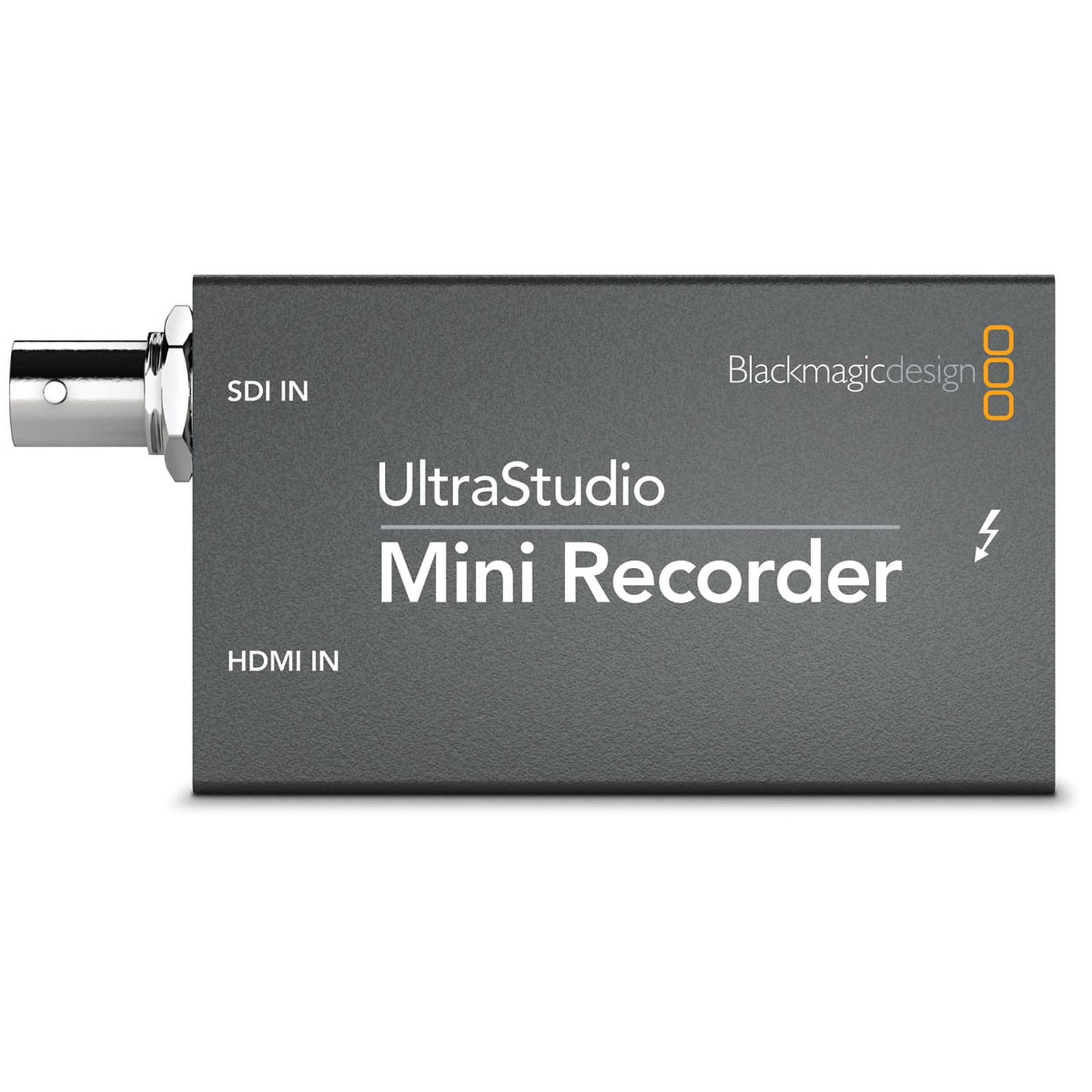 Blackmagic Design Ultrastudio Mini Recorder Tarjeta Capturadora Blackmagic Design En Ldlc Com Musericordia