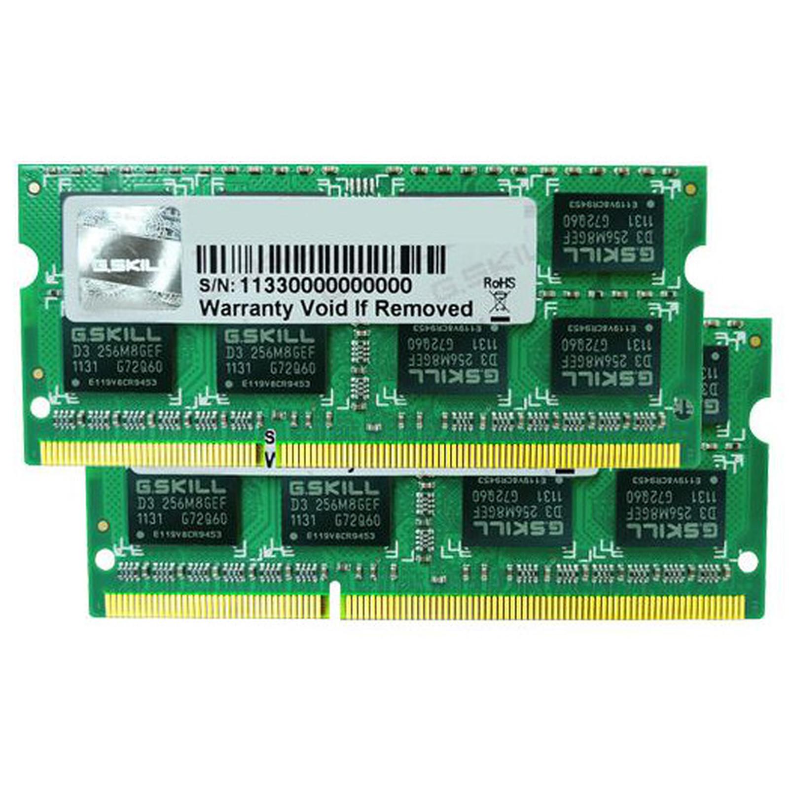 G.Skill SODIMM 8 Go (Kit 2x 4Go) DDR3 1333 MHz