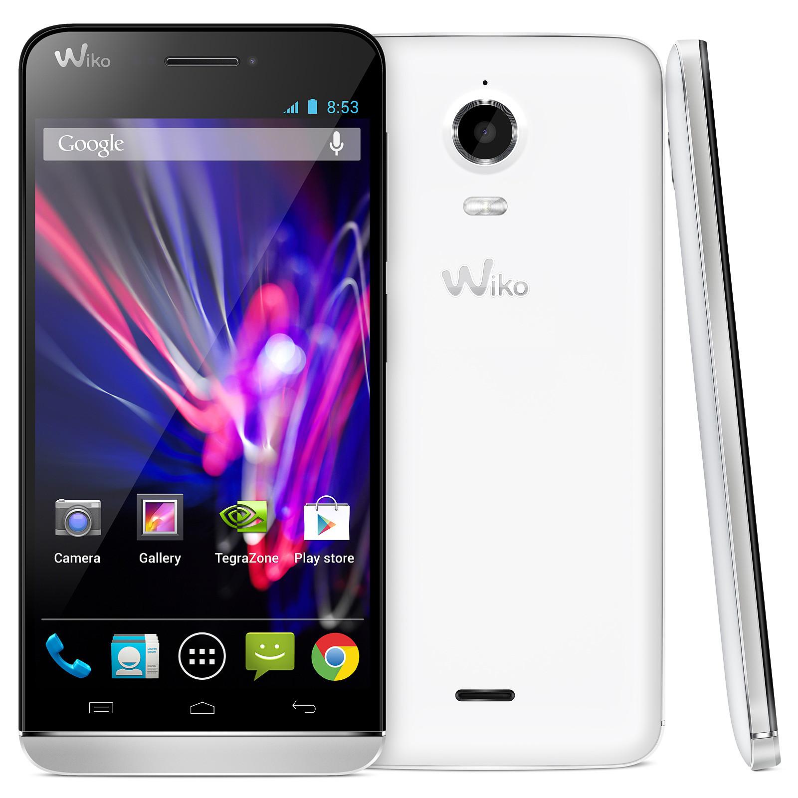 Wiko Wax Blanc Mobile & smartphone Wiko sur
