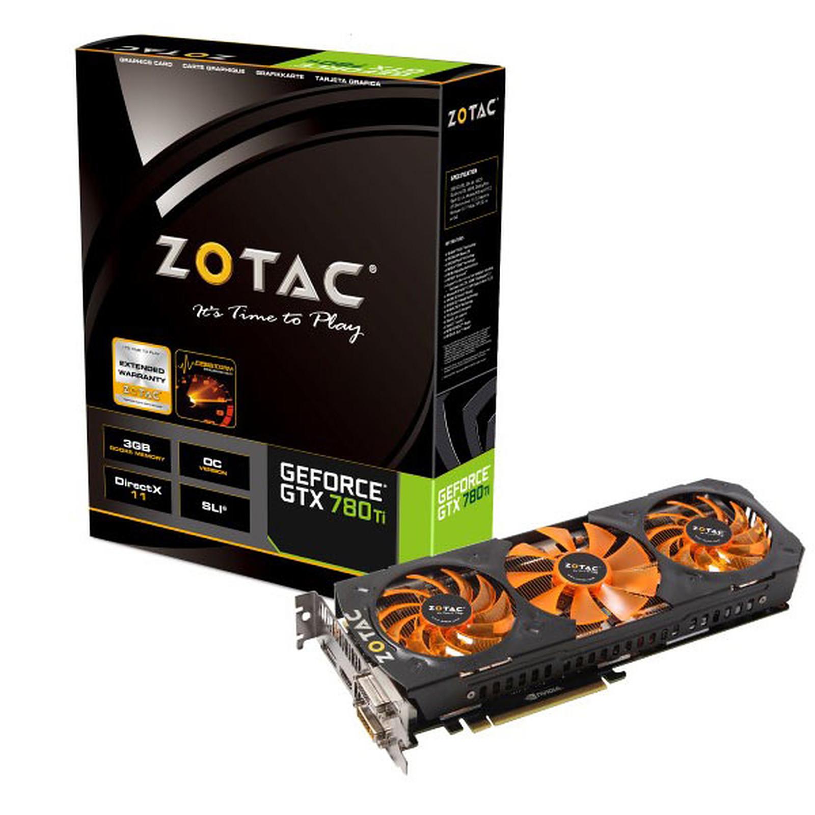 ZOTAC GeForce GTX 780 Ti OC 3GB