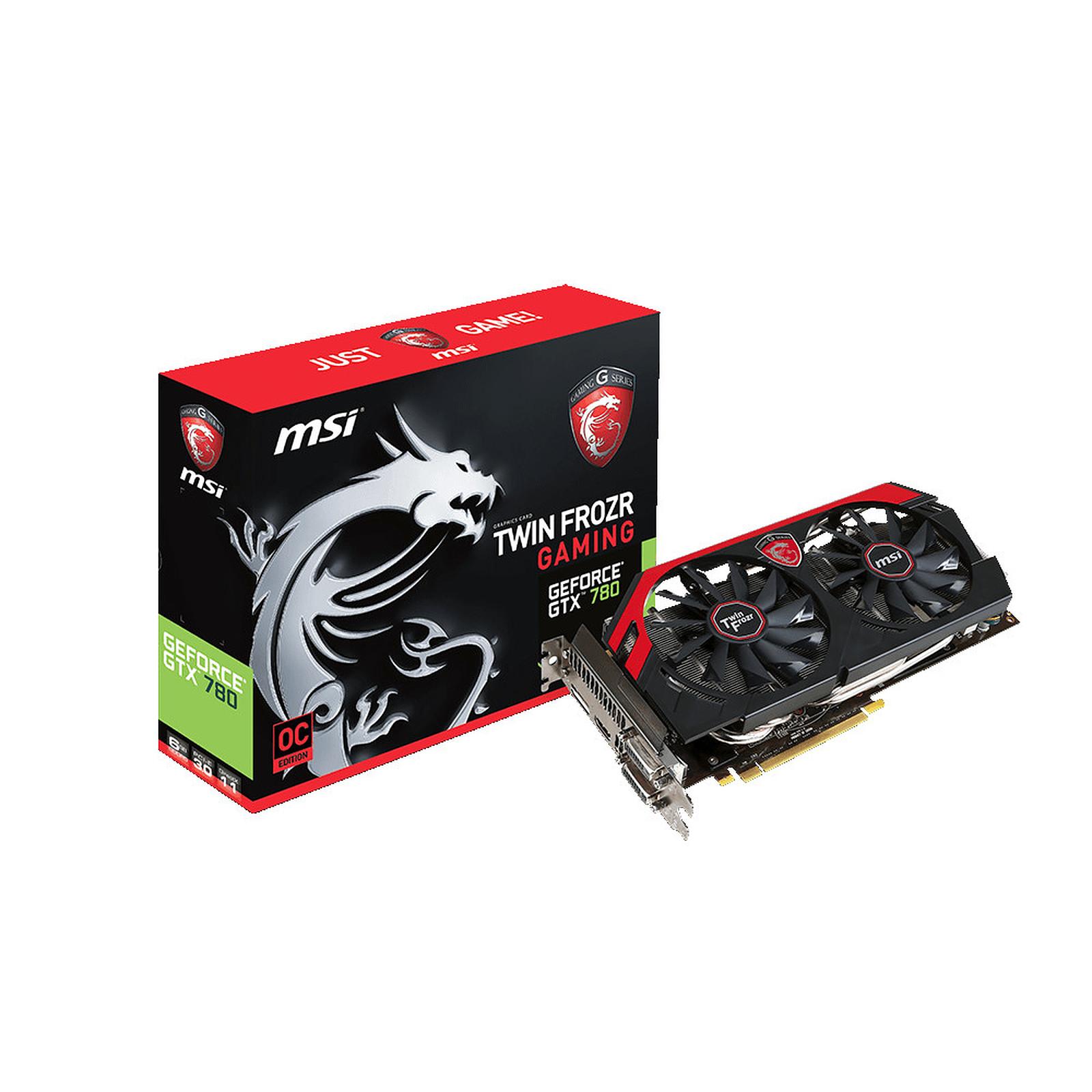 MSI GeForce GTX 780 N780 TF 6GD5/OC