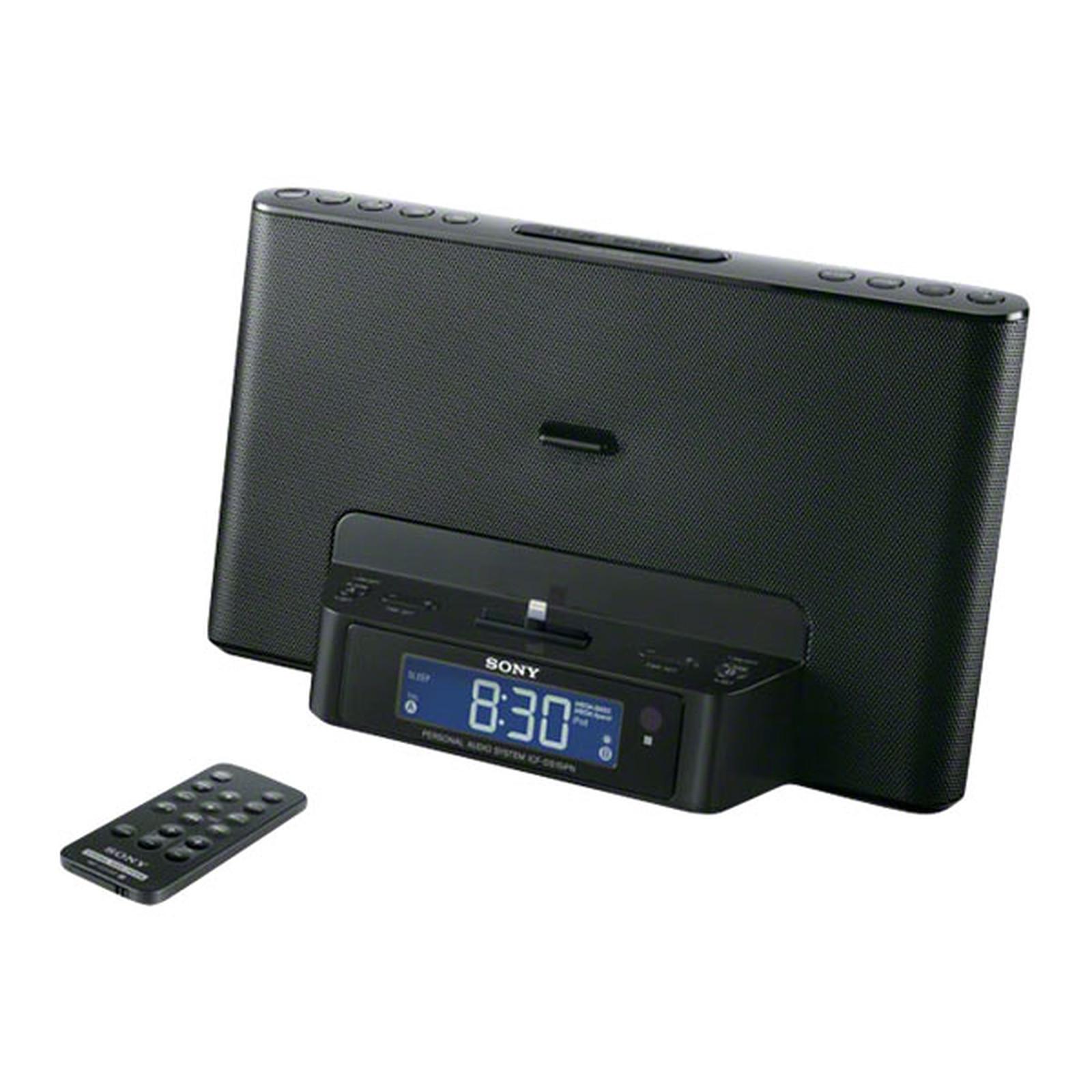 Sony ICF-DS15iPN Noir