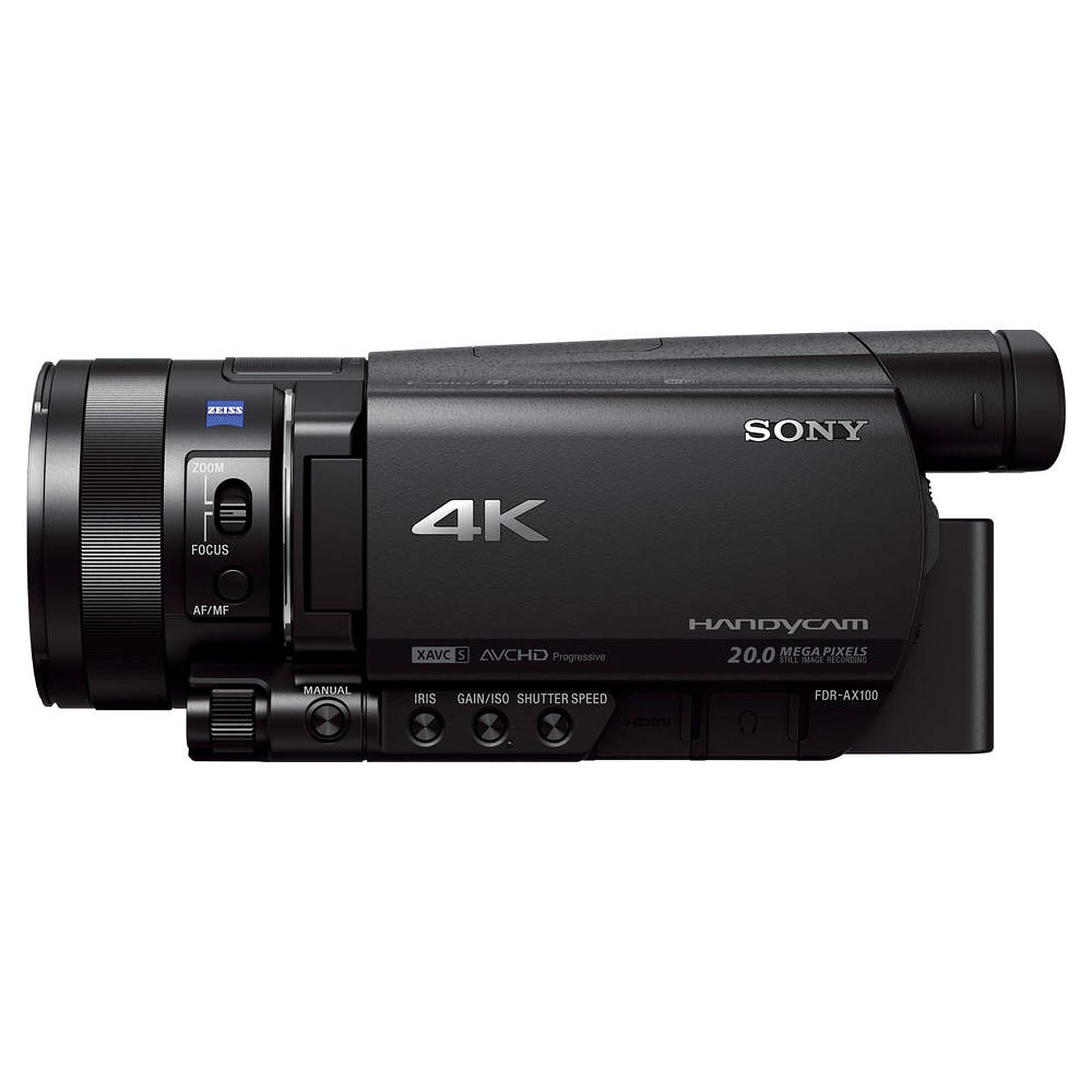 Sony FDR-AX100E Noir