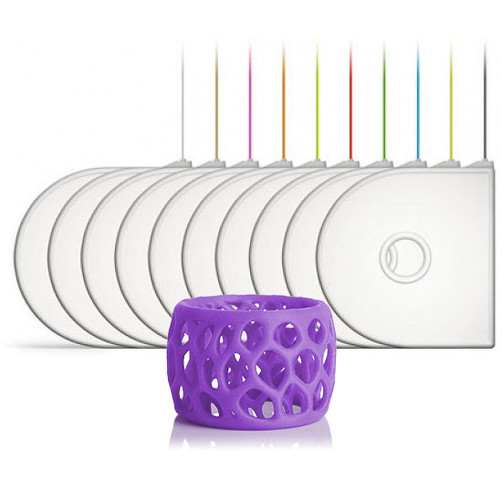3D Systems 401418-01 - Cartouche ABS Violet pour imprimante 3D