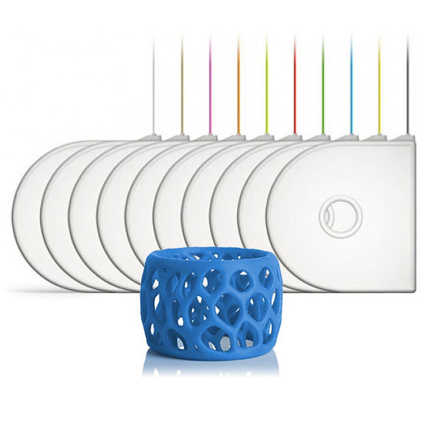 3D Systems 391144 - Cartouche PLA Bleu pour imprimante 3D
