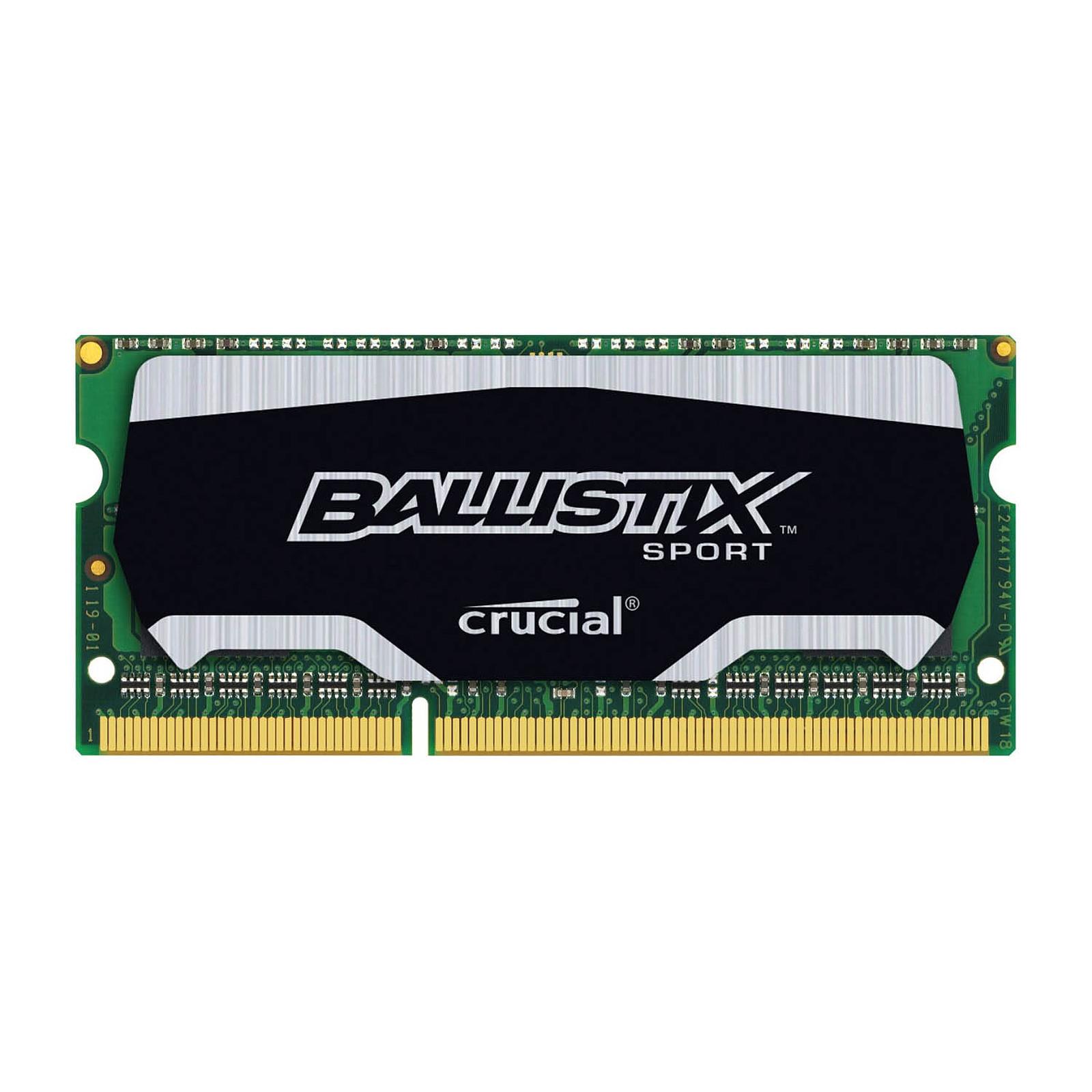 Ballistix Sport SO-DIMM 4 Go DDR3L 1866MHz CL10