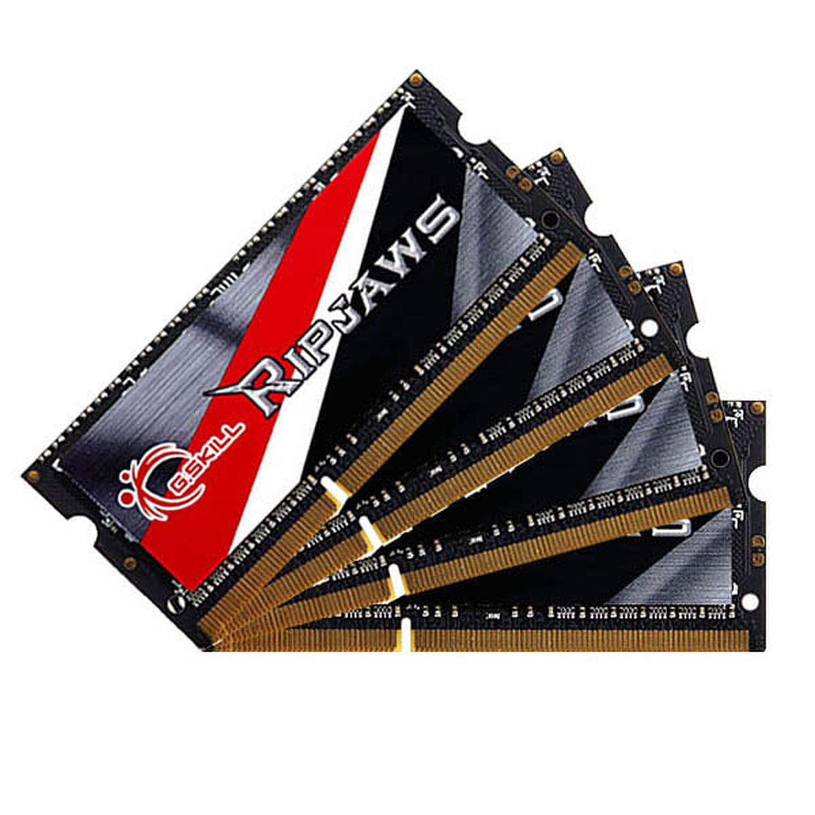 G.Skill RipJaws Series SO-DIMM 32 Go (4 x 8 Go) DDR3 1600 MHz CL11