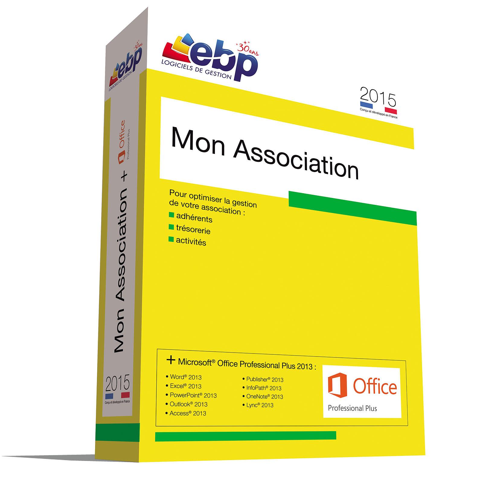 EBP Mon Association 2015 + Microsoft Office Professionnel Plus 2013