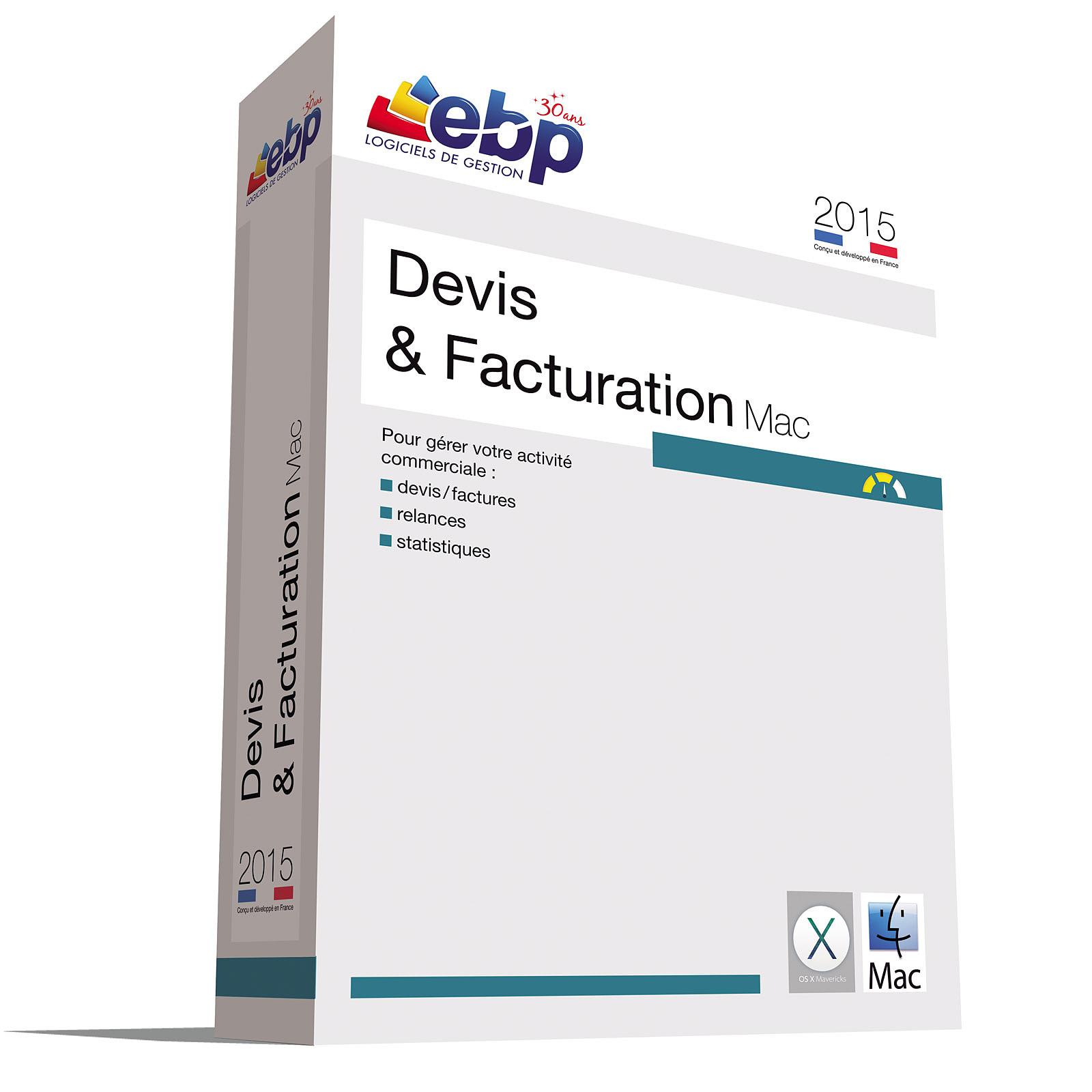 EBP Devis et Facturation Mac 2015