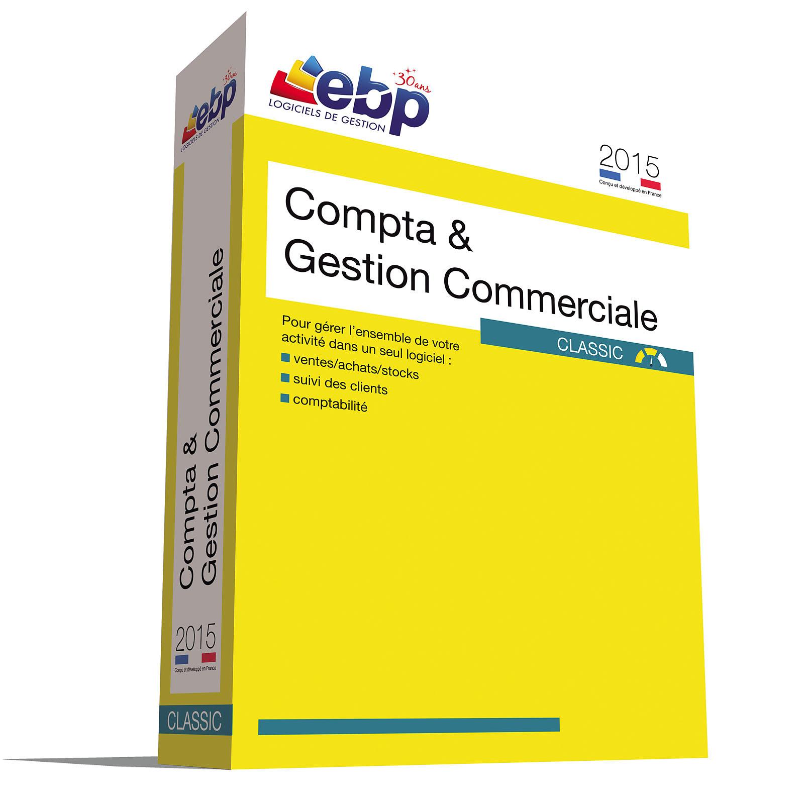 EBP Compta et Gestion Commerciale Classic 2015