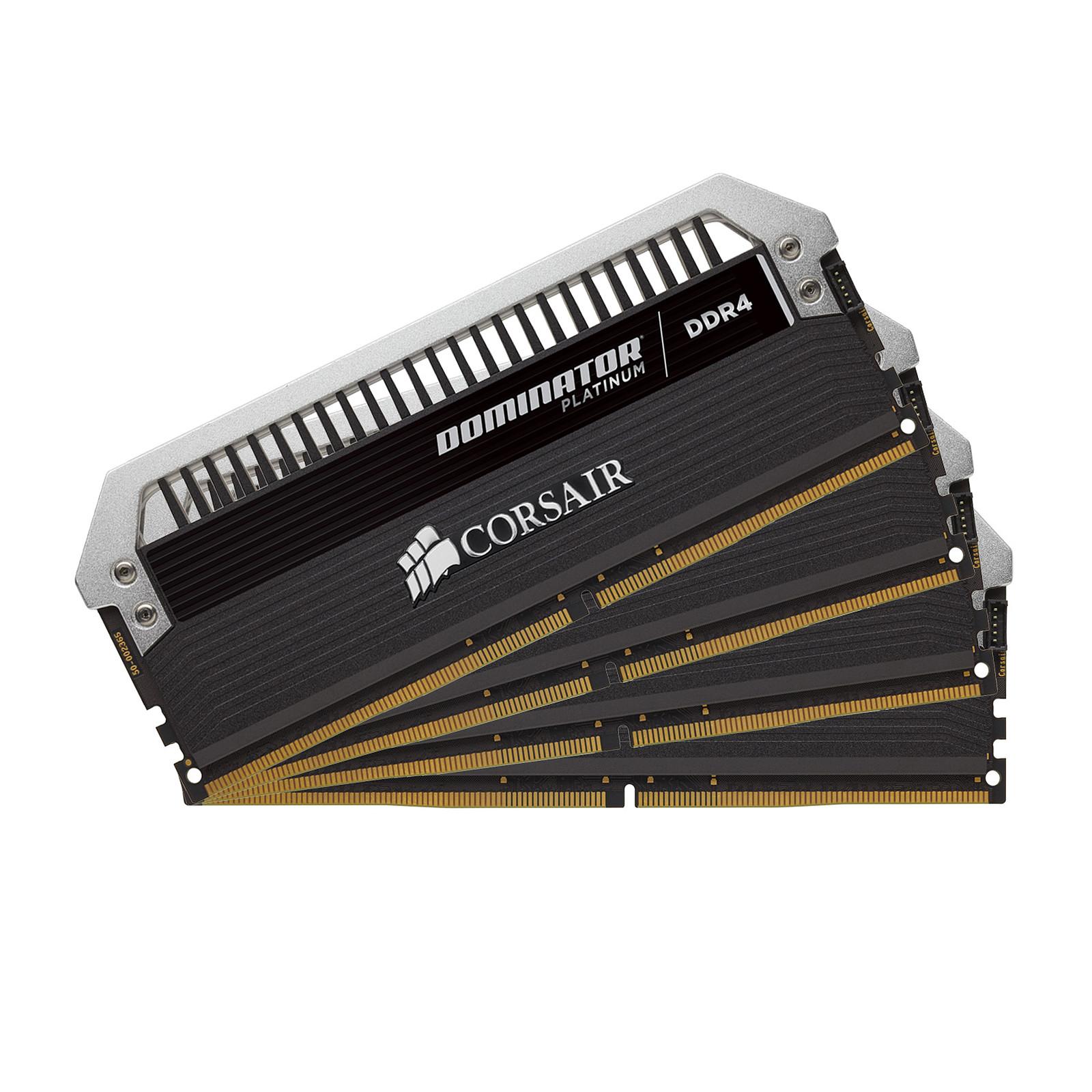 Corsair Dominator Platinum 64 Go (4x 16 Go) DDR4 3000 MHz CL15