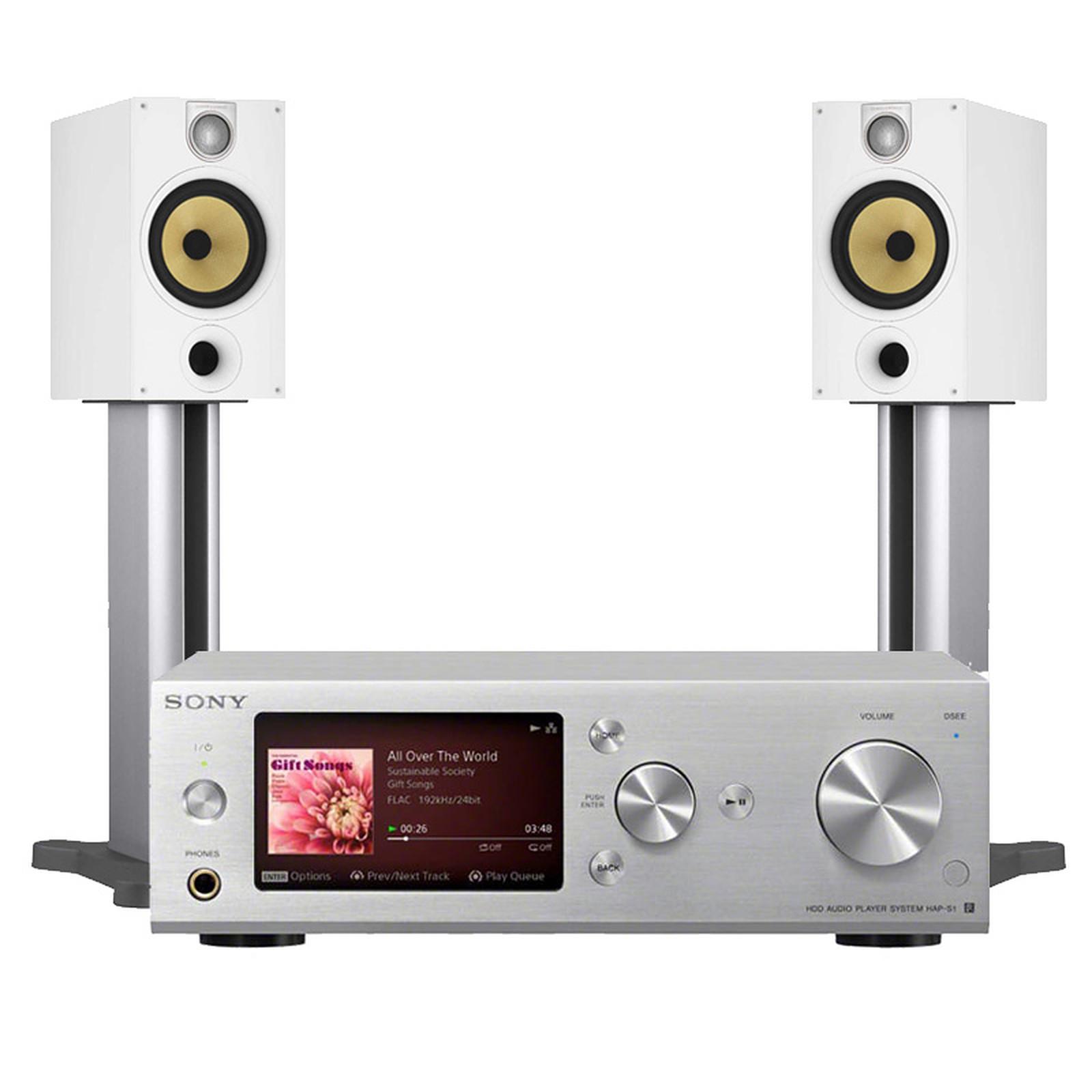 Sony HAP-S1 + B&W 685 S2 White