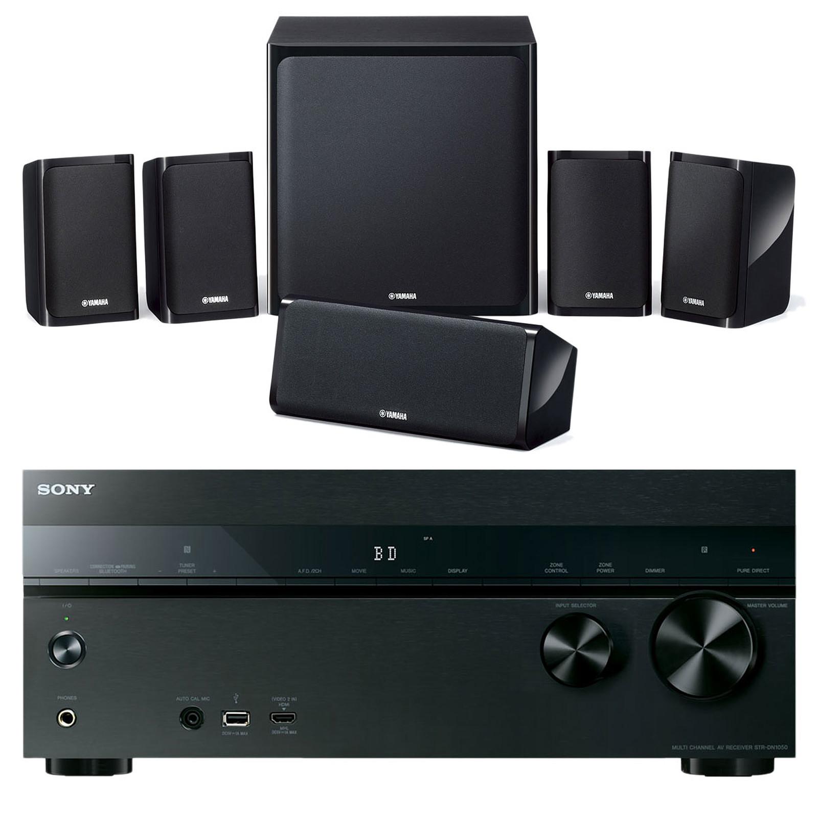 Sony STR-DN1050 + Yamaha NS-P40
