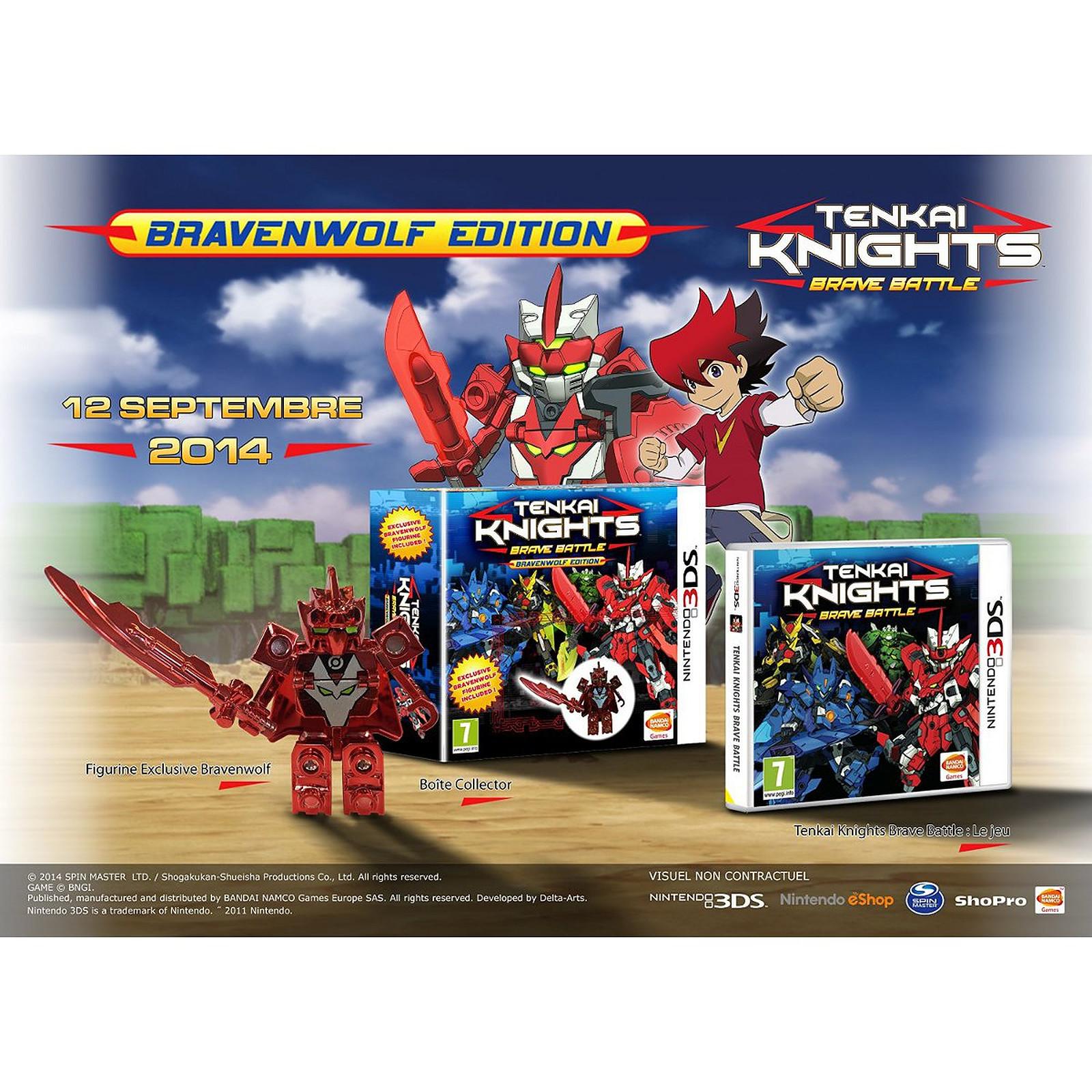 Tenkai Knights : Brave Battle - Bravenwolf Edition (Nintendo 3DS/2DS)