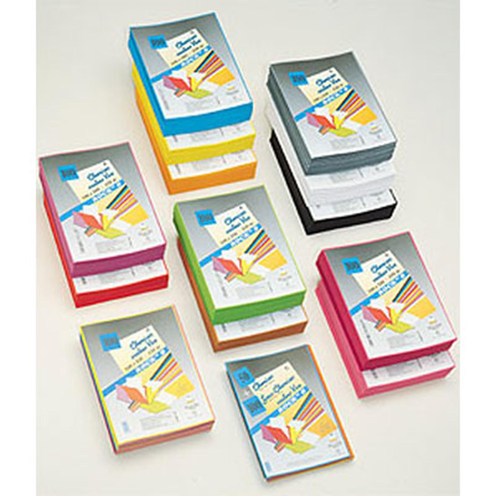 Rainex 10 Chemises de présentation Rock's 24x32 cm 220g - Assortiment de 10 couleurs