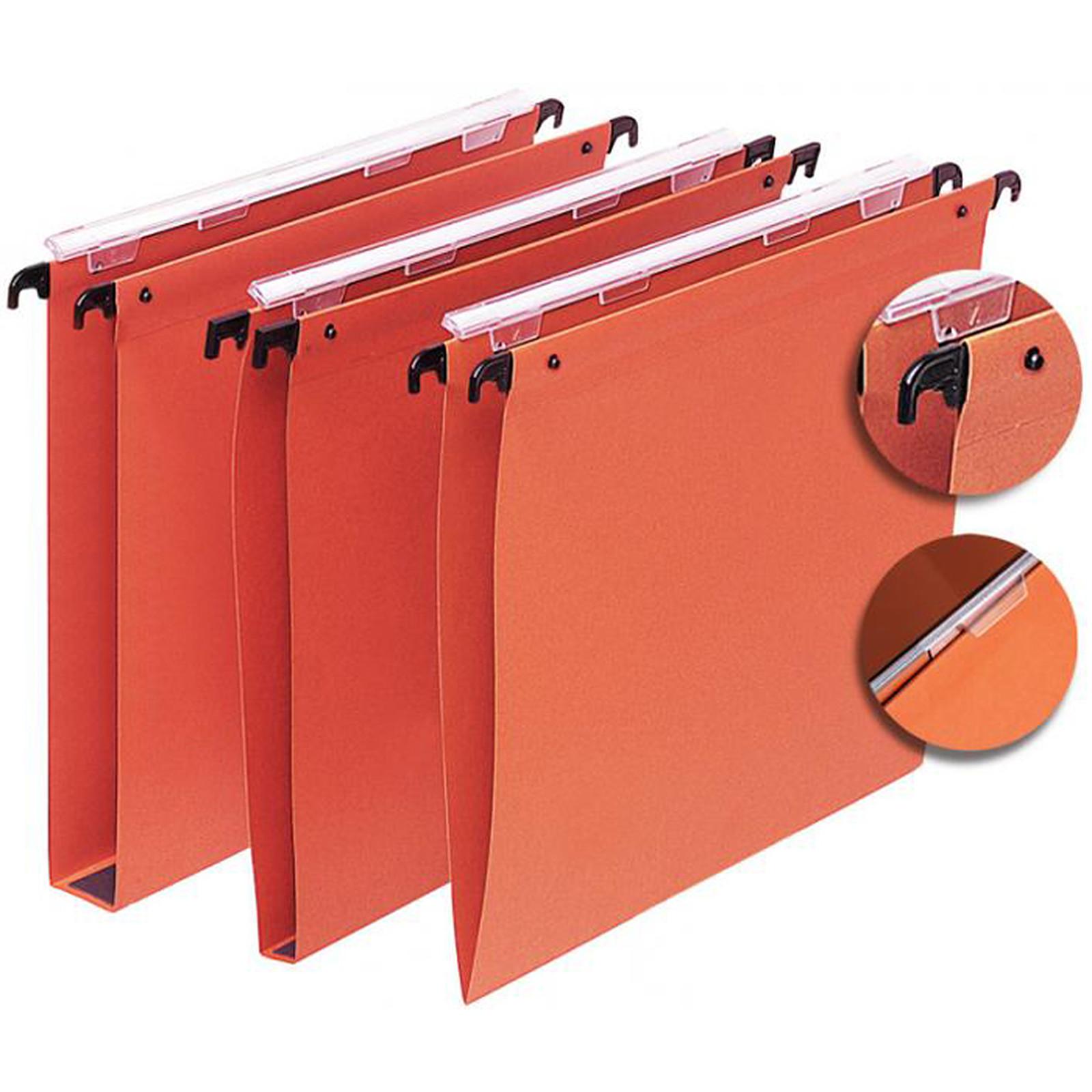 L'Oblique 25 dossiers suspendus pour tiroir fond 15 mm